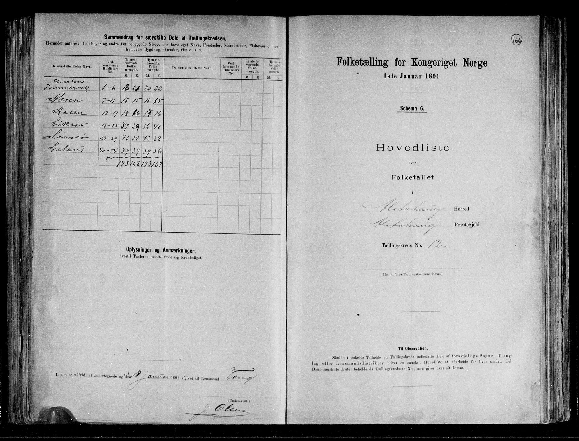 RA, Folketelling 1891 for 1820 Alstahaug herred, 1891, s. 28