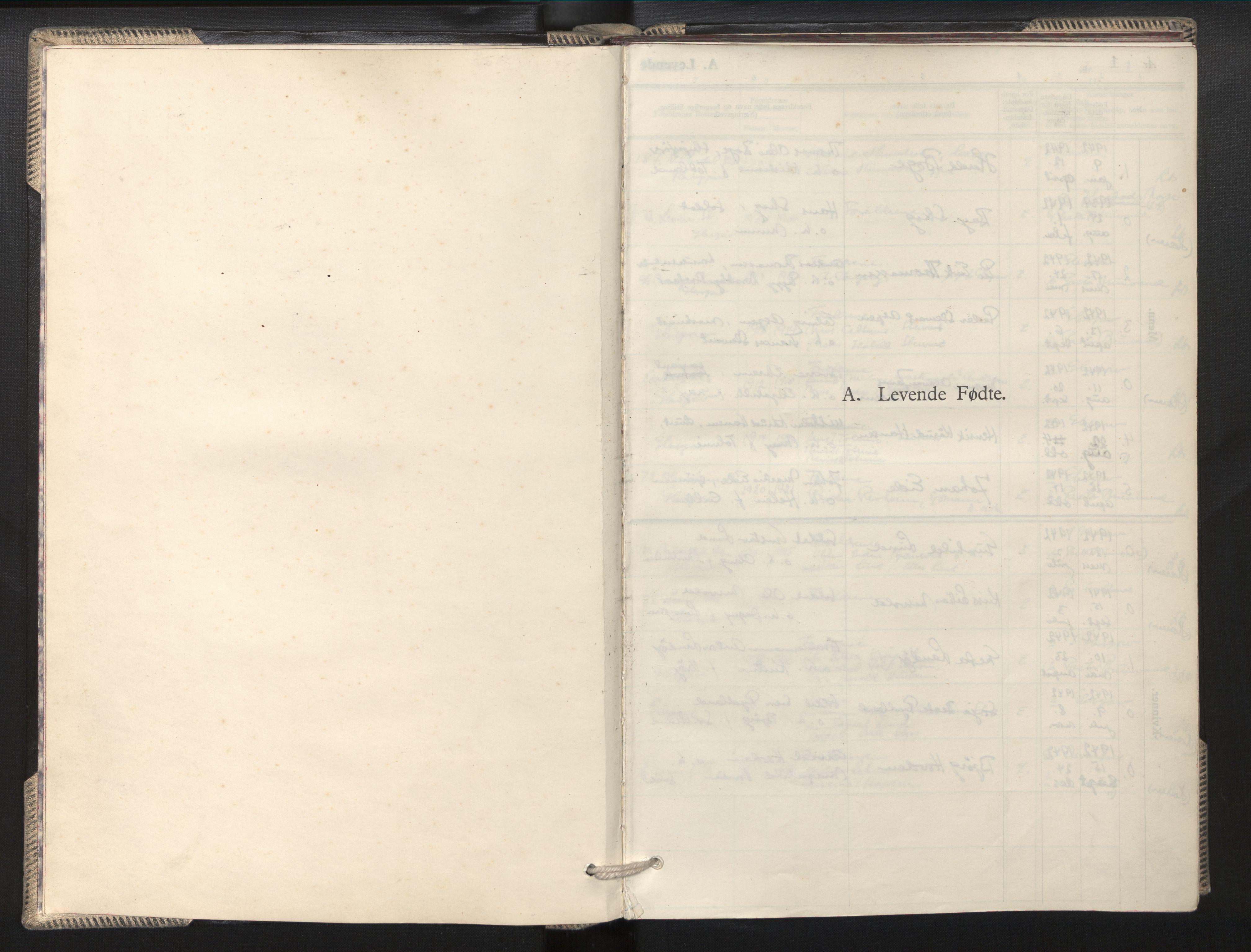 SAB, Privatarkiv 100 - Den norske sjømannsmisjon i utlandet/Skotske havner (Leith, Glasgow), H/Ha/Hab/L0002: Ministerialbok nr. A 2, 1940-1946