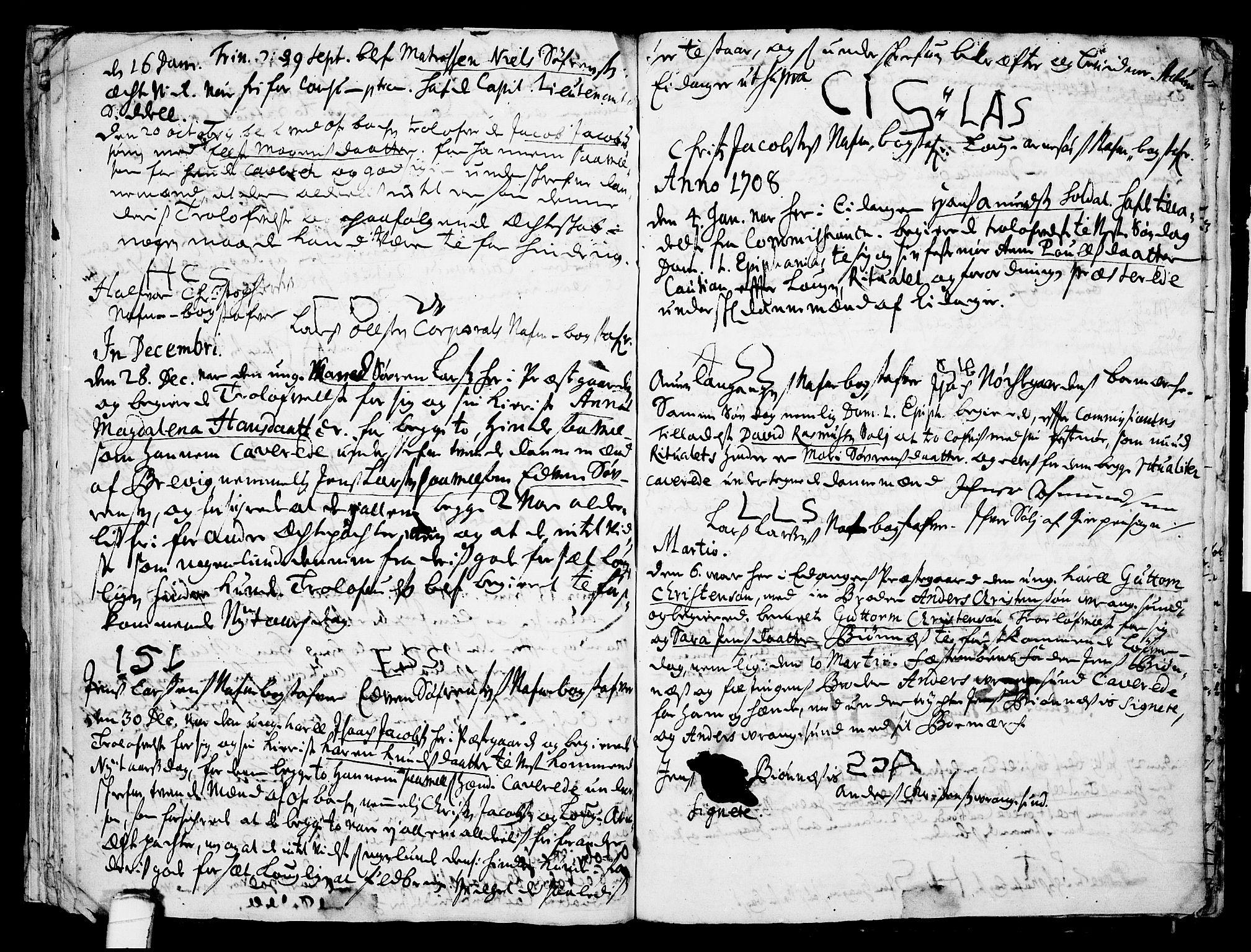 SAKO, Eidanger kirkebøker, F/Fa/L0001: Ministerialbok nr. 1, 1695-1717, s. 29