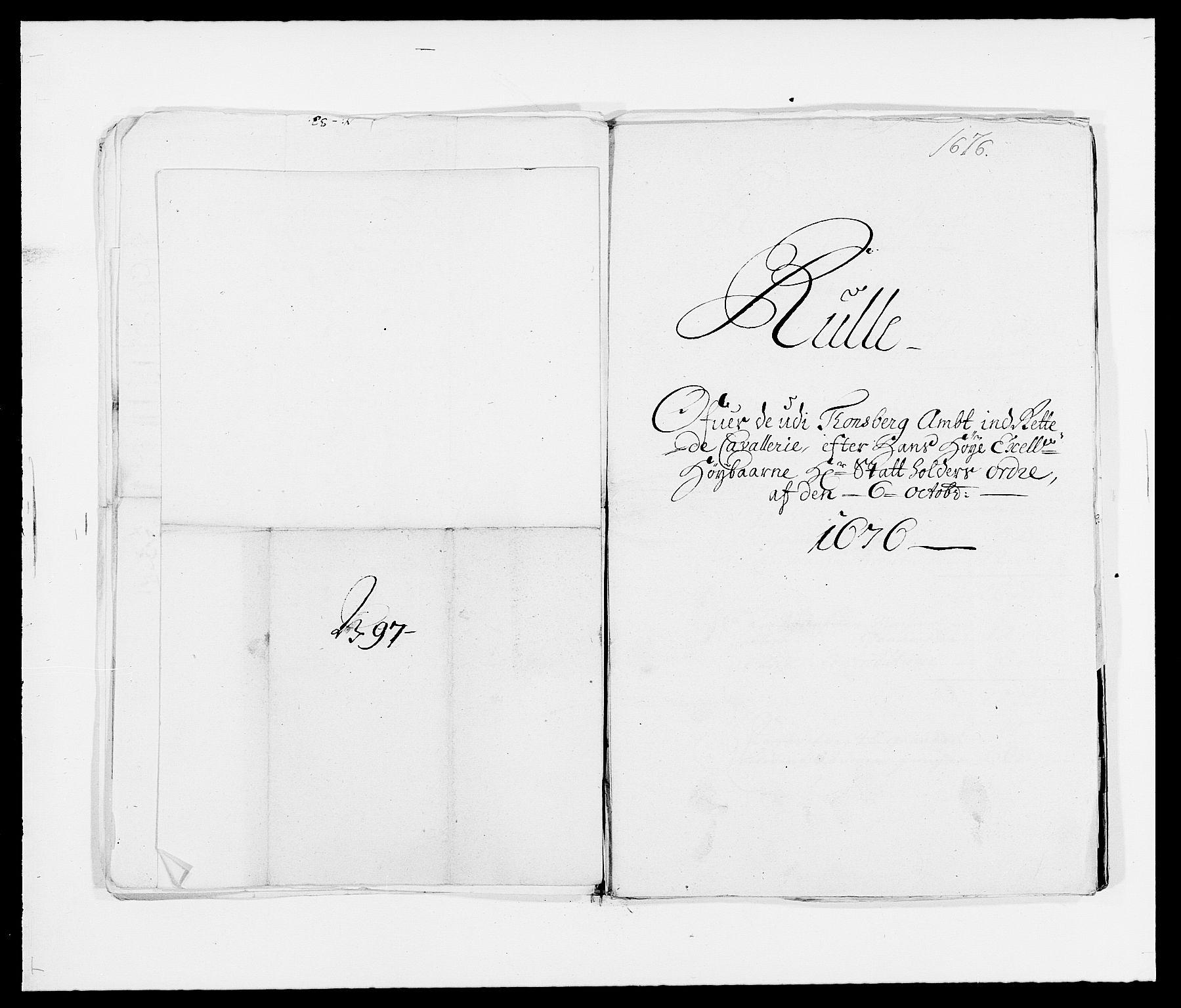 RA, Rentekammeret inntil 1814, Reviderte regnskaper, Fogderegnskap, R32/L1845: Fogderegnskap Jarlsberg grevskap, 1676-1678, s. 421