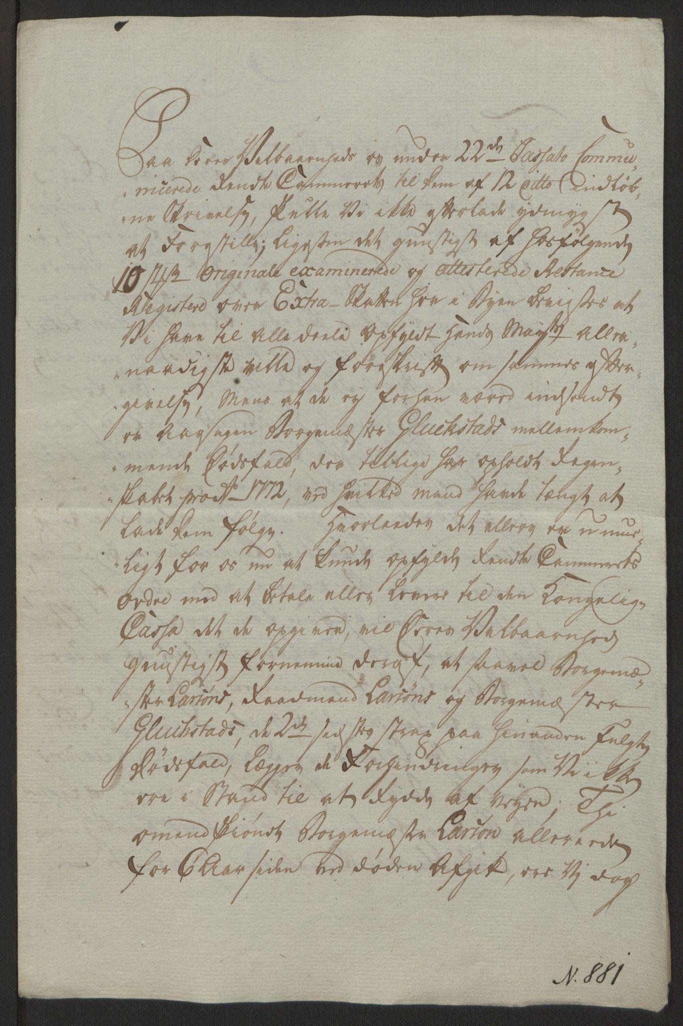 RA, Rentekammeret inntil 1814, Reviderte regnskaper, Byregnskaper, R/Ra/L0006: [A4] Kontribusjonsregnskap, 1762-1772, s. 338