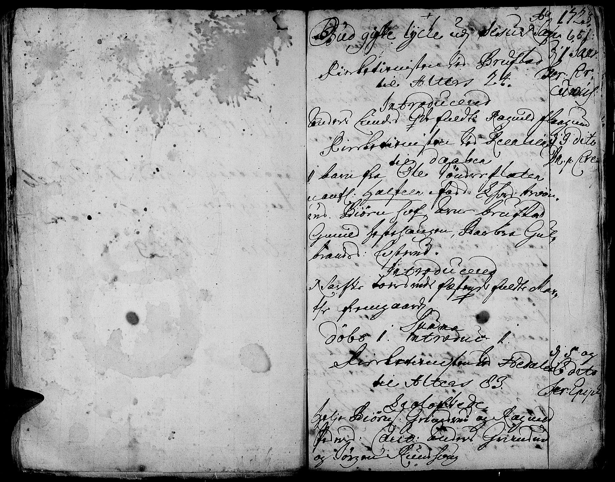 SAH, Aurdal prestekontor, Ministerialbok nr. 1-3, 1692-1730, s. 651