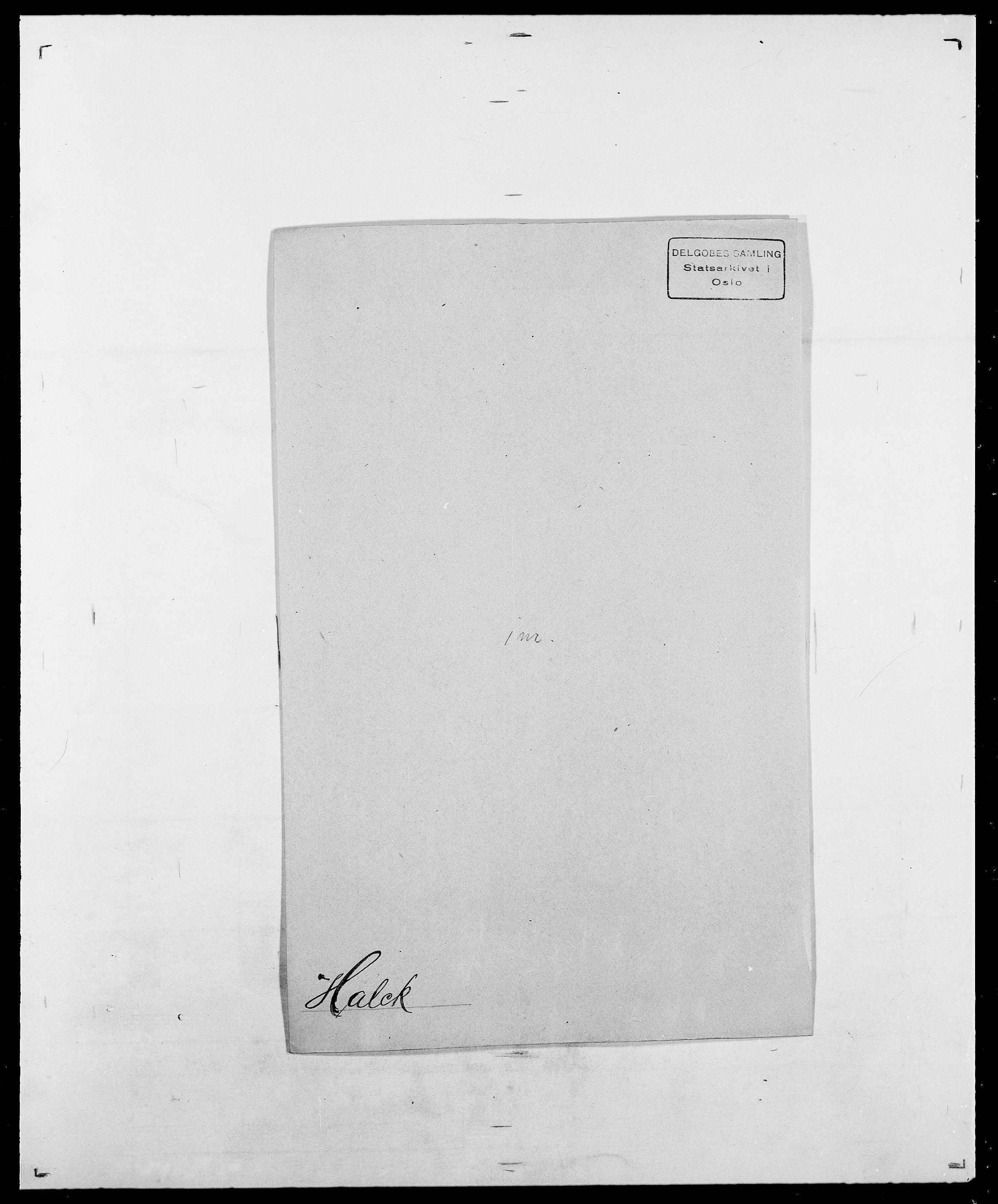 SAO, Delgobe, Charles Antoine - samling, D/Da/L0015: Grodtshilling - Halvorsæth, s. 741