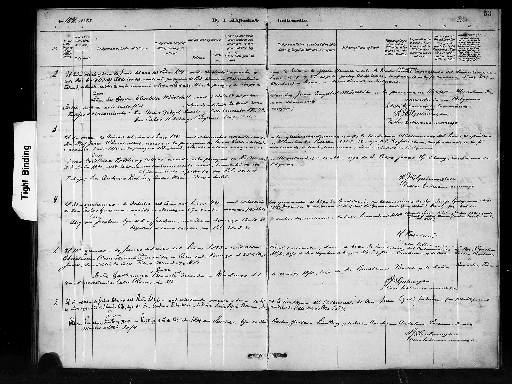 SAB, Den Norske Sjømannsmisjon i utlandet*, Ministerialbok nr. A 1, 1888-1898, s. 53
