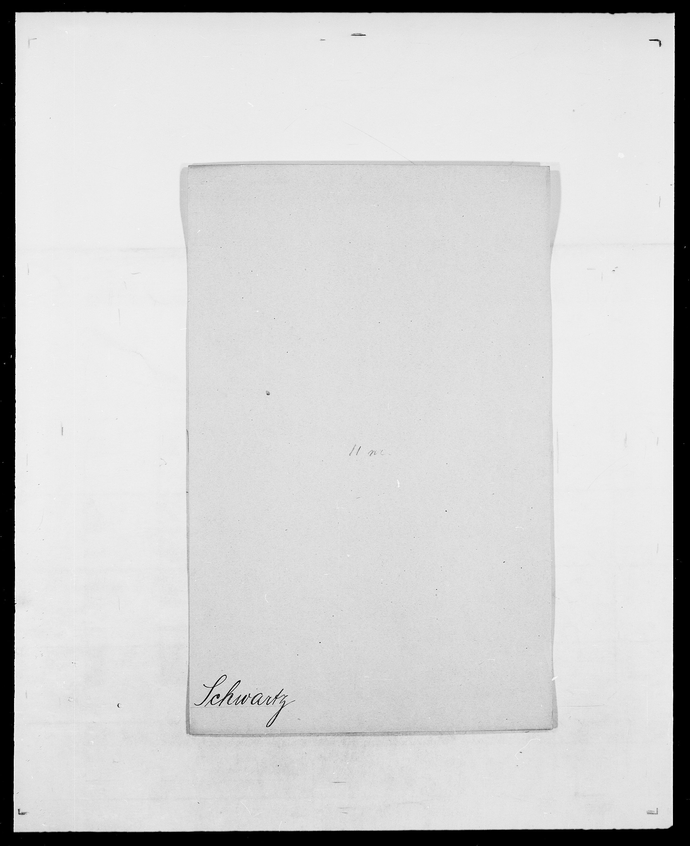 SAO, Delgobe, Charles Antoine - samling, D/Da/L0035: Schnabel - sjetman, s. 374