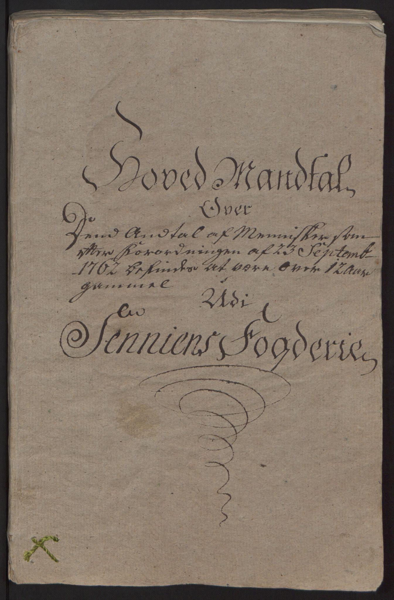 RA, Rentekammeret inntil 1814, Reviderte regnskaper, Fogderegnskap, R68/L4845: Ekstraskatten Senja og Troms, 1762-1765, s. 14