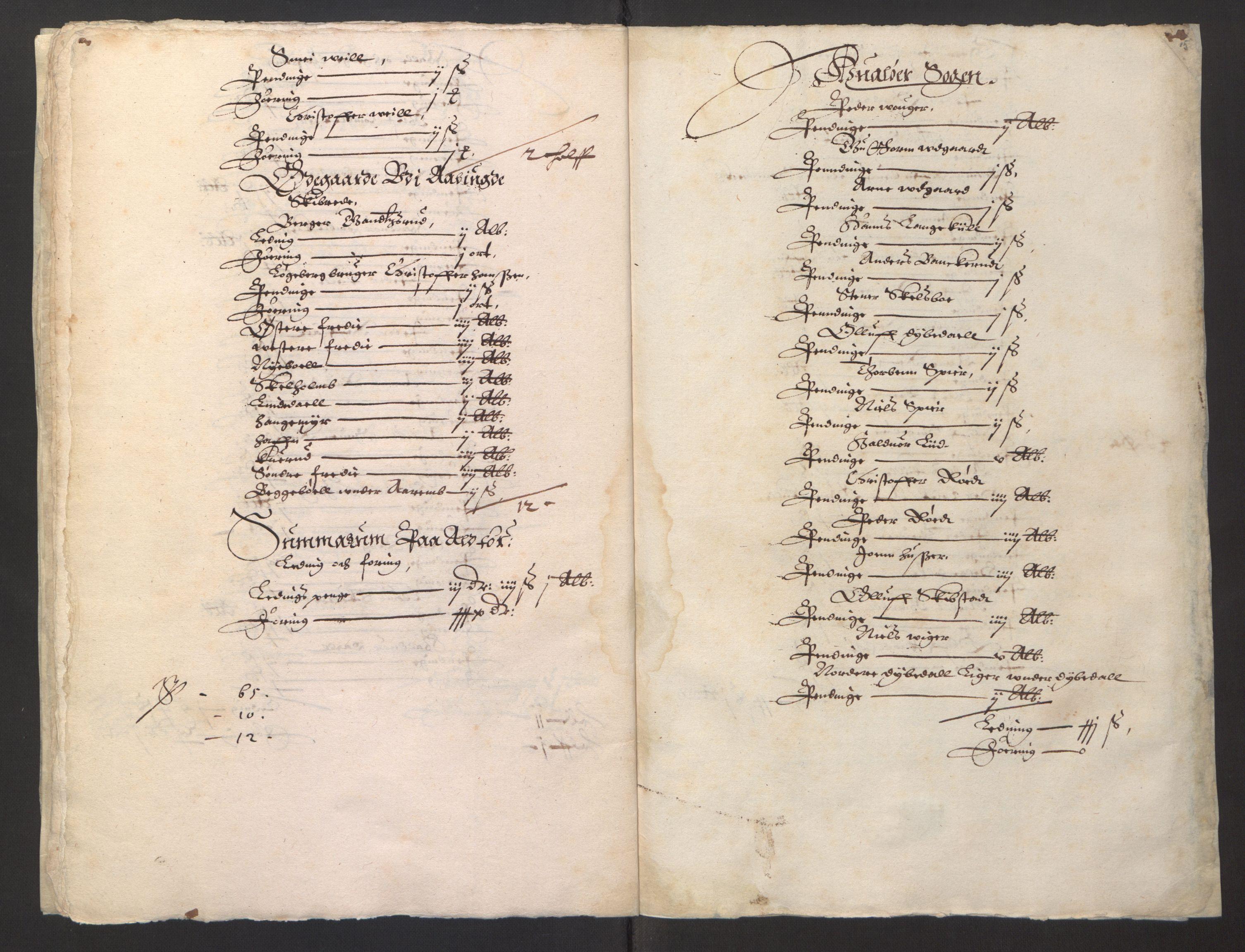 RA, Stattholderembetet 1572-1771, Ek/L0001: Jordebøker før 1624 og til utligning av garnisonsskatt 1624-1626:, 1624-1625, s. 218