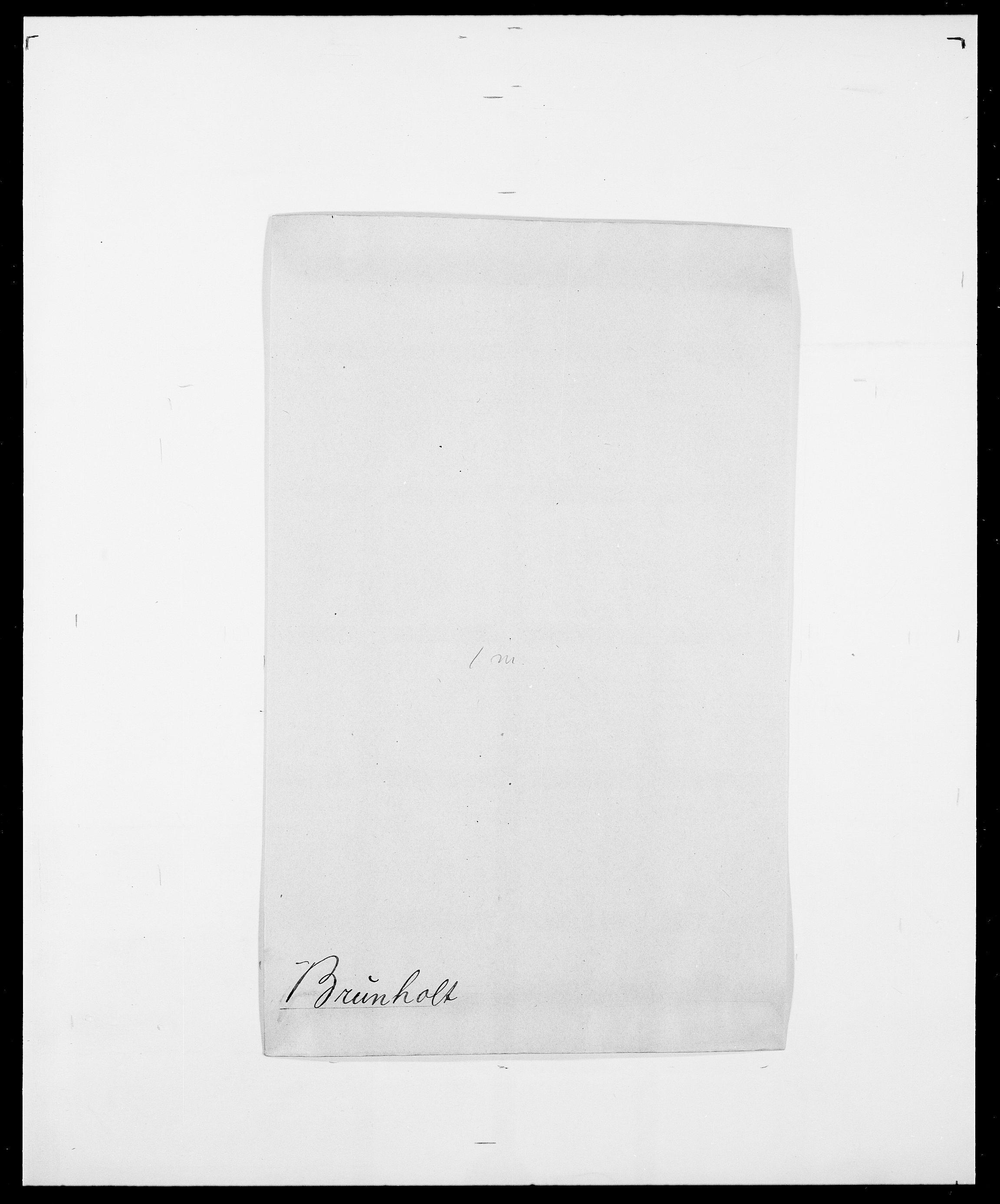 SAO, Delgobe, Charles Antoine - samling, D/Da/L0006: Brambani - Brønø, s. 827