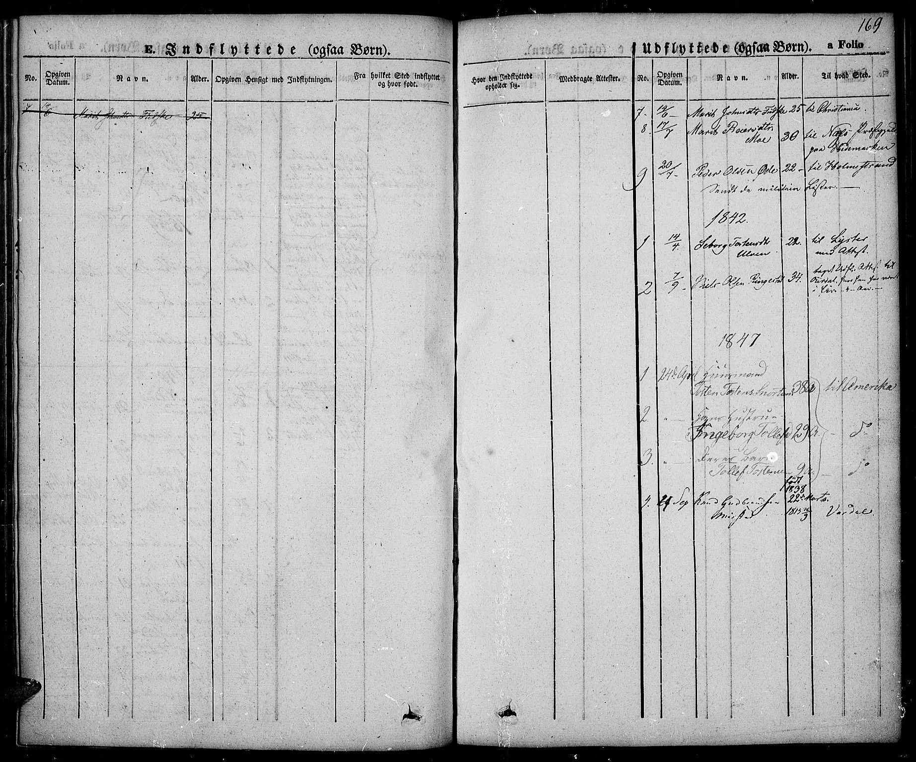 SAH, Slidre prestekontor, Ministerialbok nr. 3, 1831-1843, s. 169