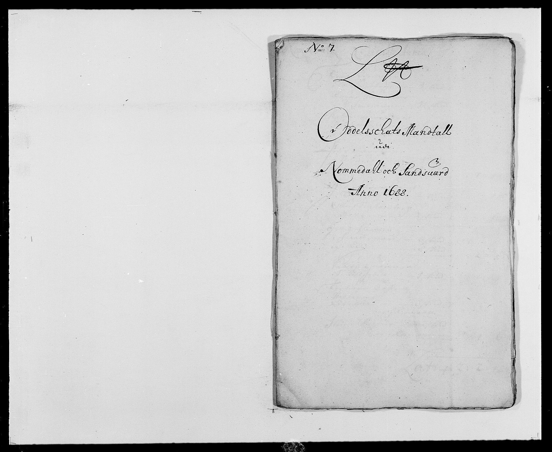 RA, Rentekammeret inntil 1814, Reviderte regnskaper, Fogderegnskap, R24/L1573: Fogderegnskap Numedal og Sandsvær, 1687-1691, s. 301