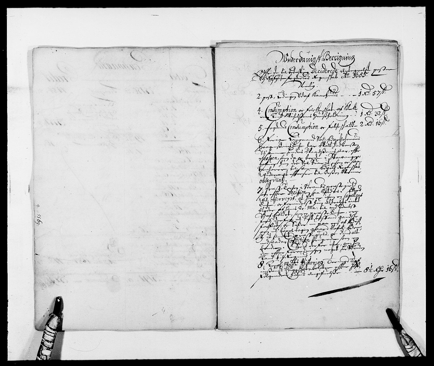 RA, Rentekammeret inntil 1814, Reviderte regnskaper, Fogderegnskap, R47/L2855: Fogderegnskap Ryfylke, 1685-1688, s. 125