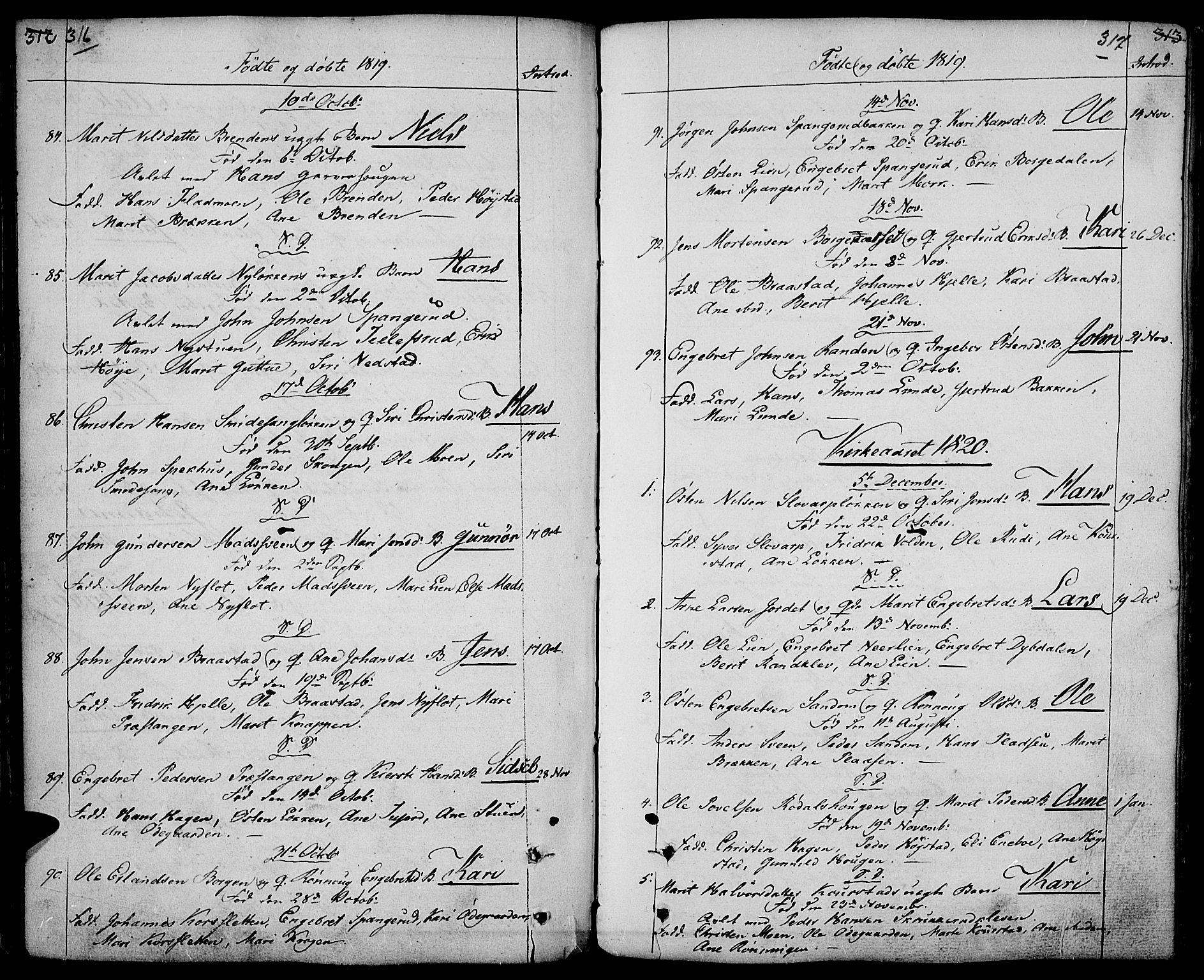 SAH, Ringebu prestekontor, Ministerialbok nr. 3, 1781-1820, s. 316-317