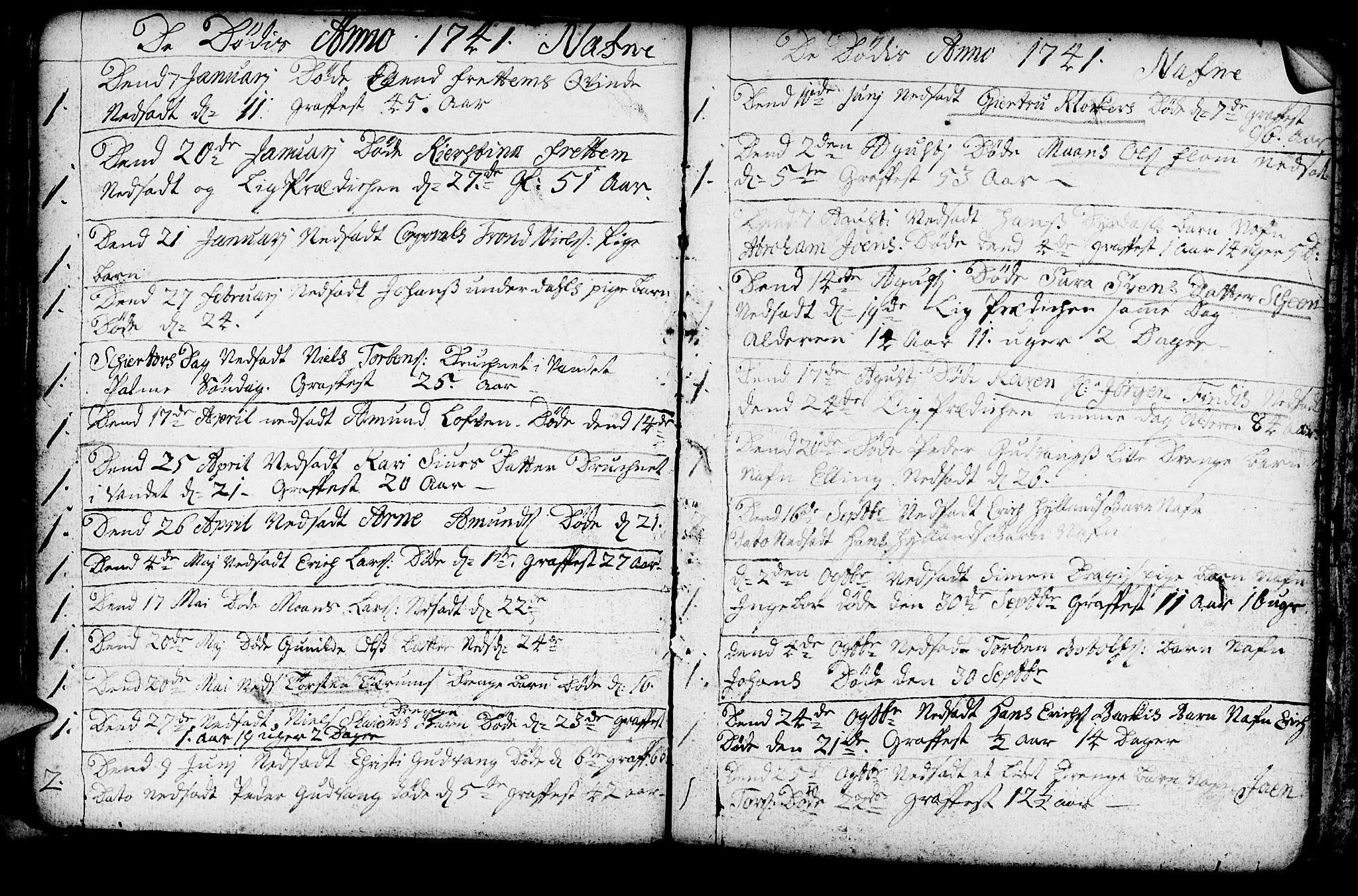SAB, Aurland Sokneprestembete*, Ministerialbok nr. A 3, 1735-1761, s. 113