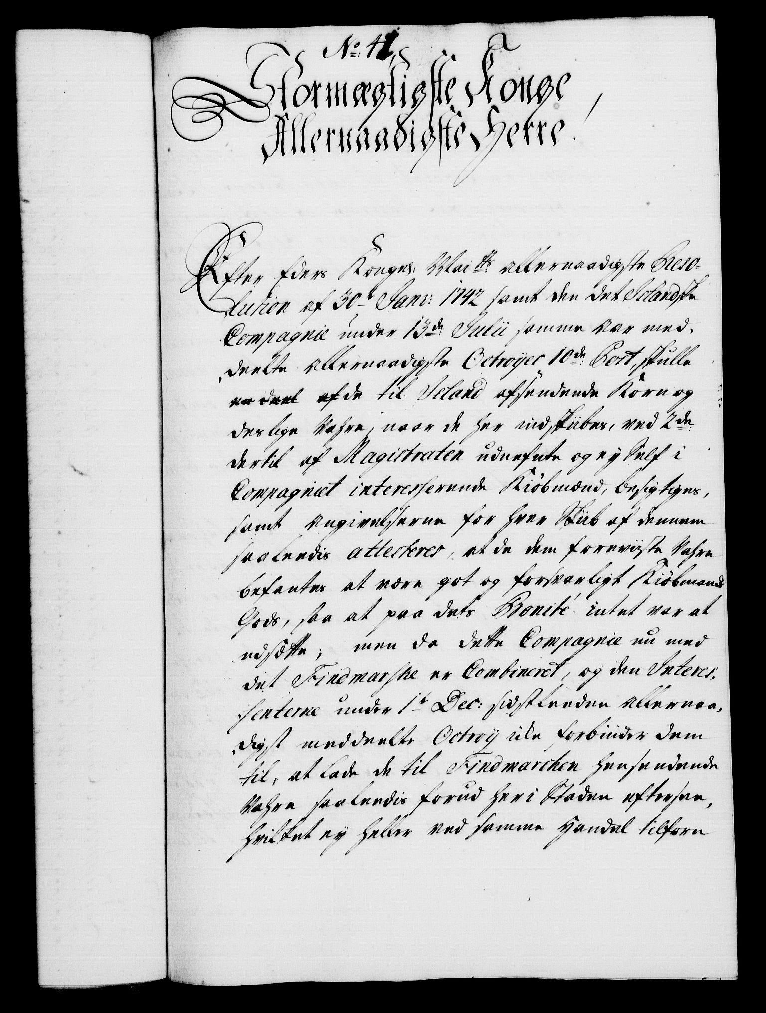RA, Rentekammeret, Kammerkanselliet, G/Gf/Gfa/L0028: Norsk relasjons- og resolusjonsprotokoll (merket RK 52.28), 1745-1746, s. 785