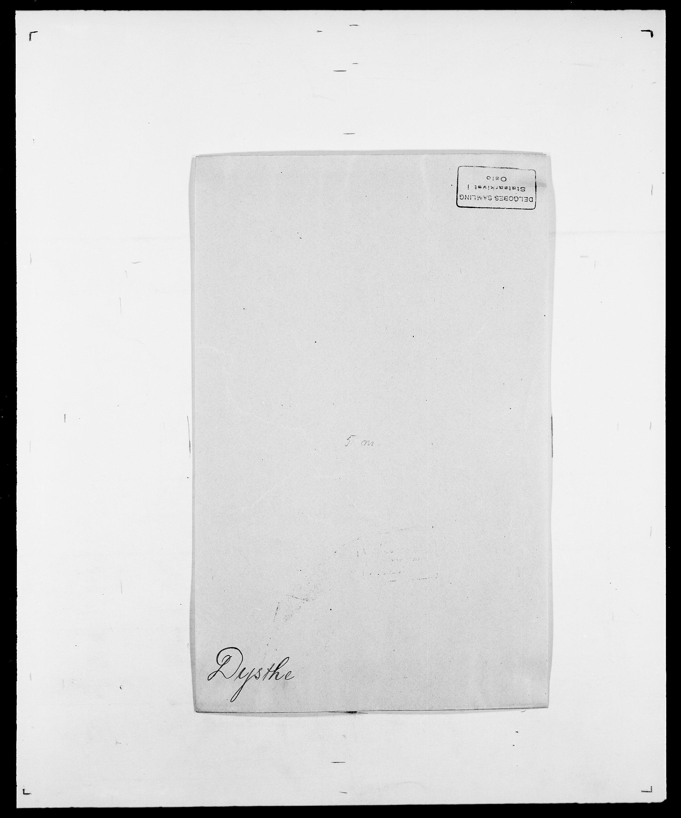 SAO, Delgobe, Charles Antoine - samling, D/Da/L0010: Dürendahl - Fagelund, s. 29