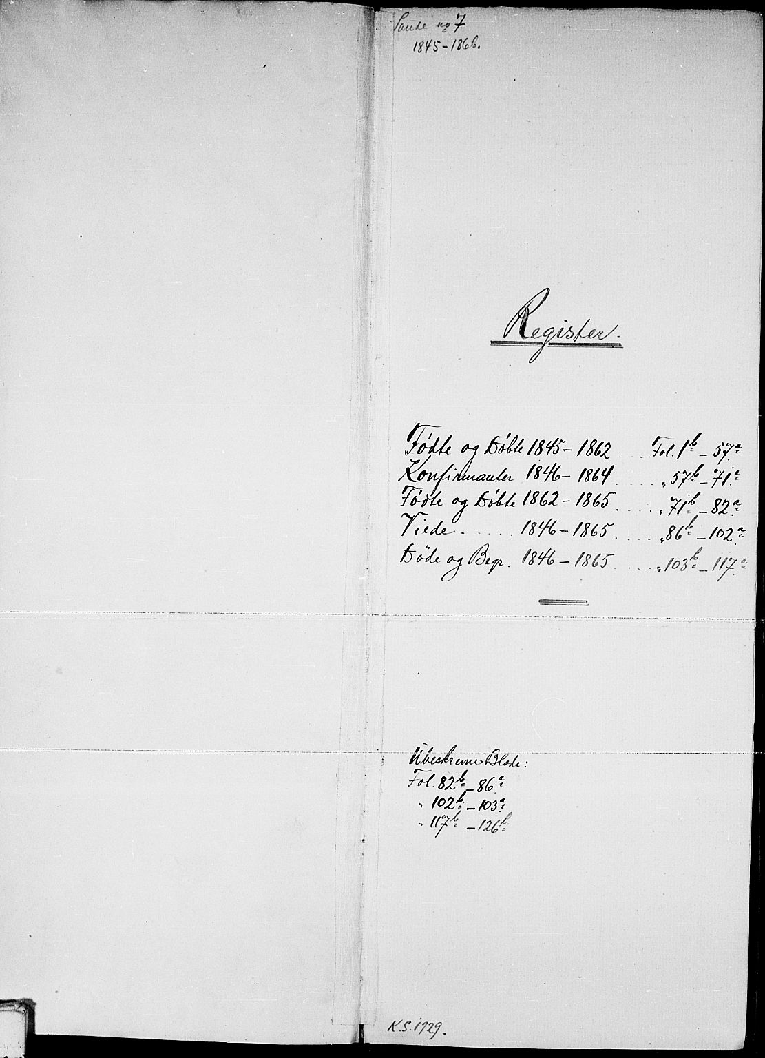 SAKO, Sauherad kirkebøker, G/Gb/L0001: Klokkerbok nr. II 1, 1845-1865