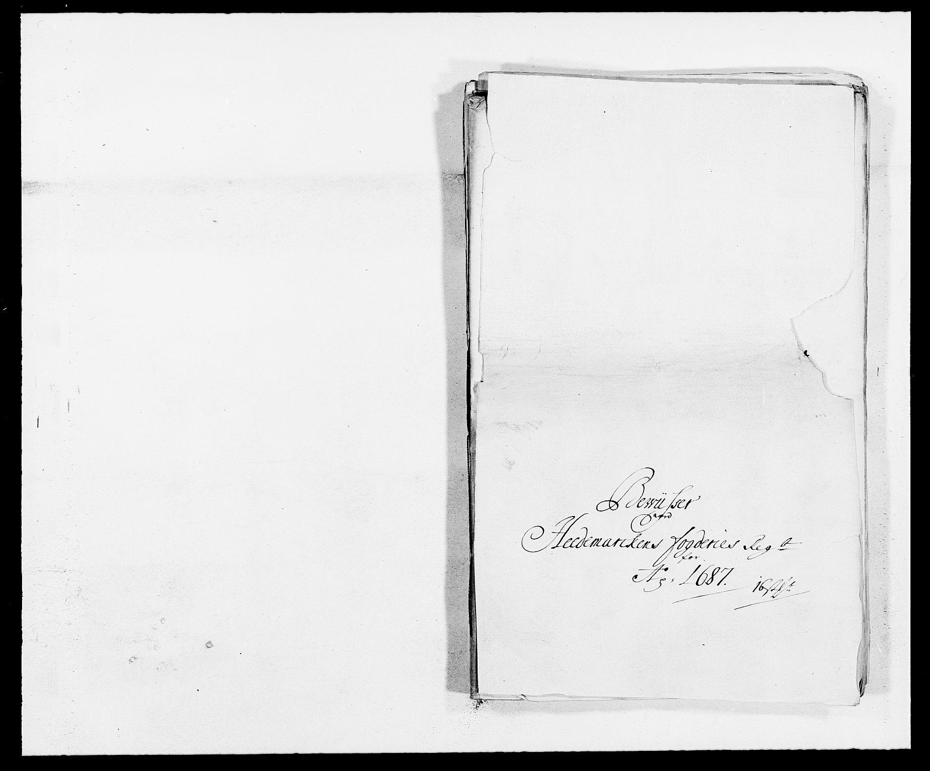 RA, Rentekammeret inntil 1814, Reviderte regnskaper, Fogderegnskap, R16/L1028: Fogderegnskap Hedmark, 1687, s. 138