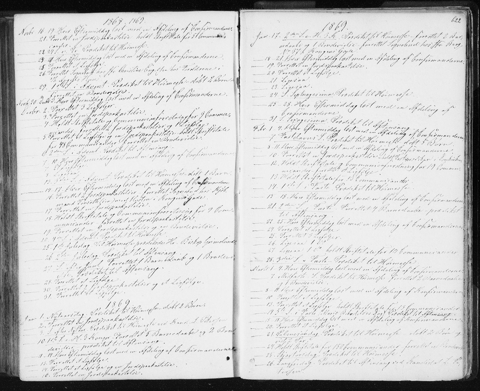 SAT, Ministerialprotokoller, klokkerbøker og fødselsregistre - Sør-Trøndelag, 601/L0055: Ministerialbok nr. 601A23, 1866-1877, s. 622