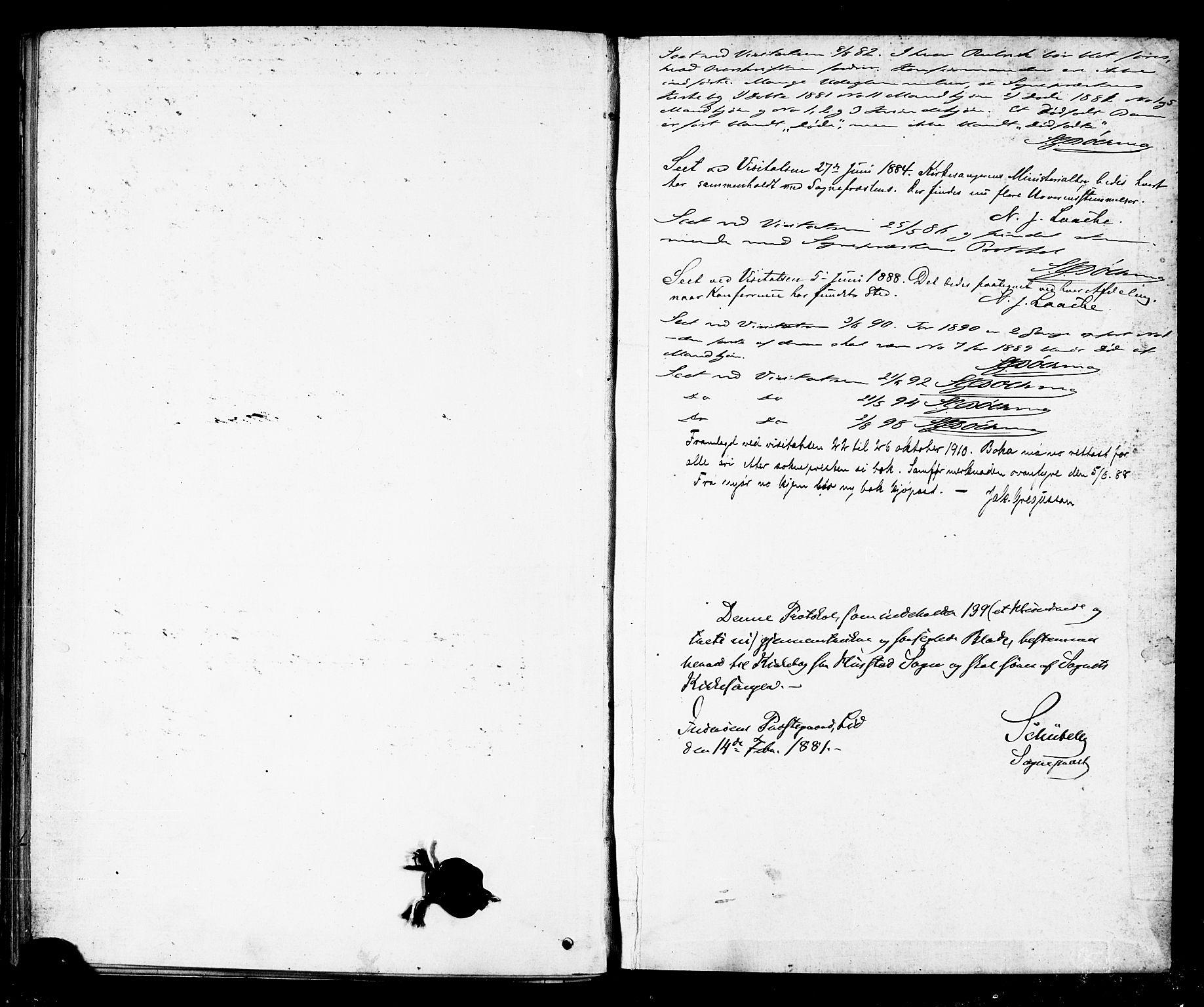 SAT, Ministerialprotokoller, klokkerbøker og fødselsregistre - Nord-Trøndelag, 732/L0318: Klokkerbok nr. 732C02, 1881-1911