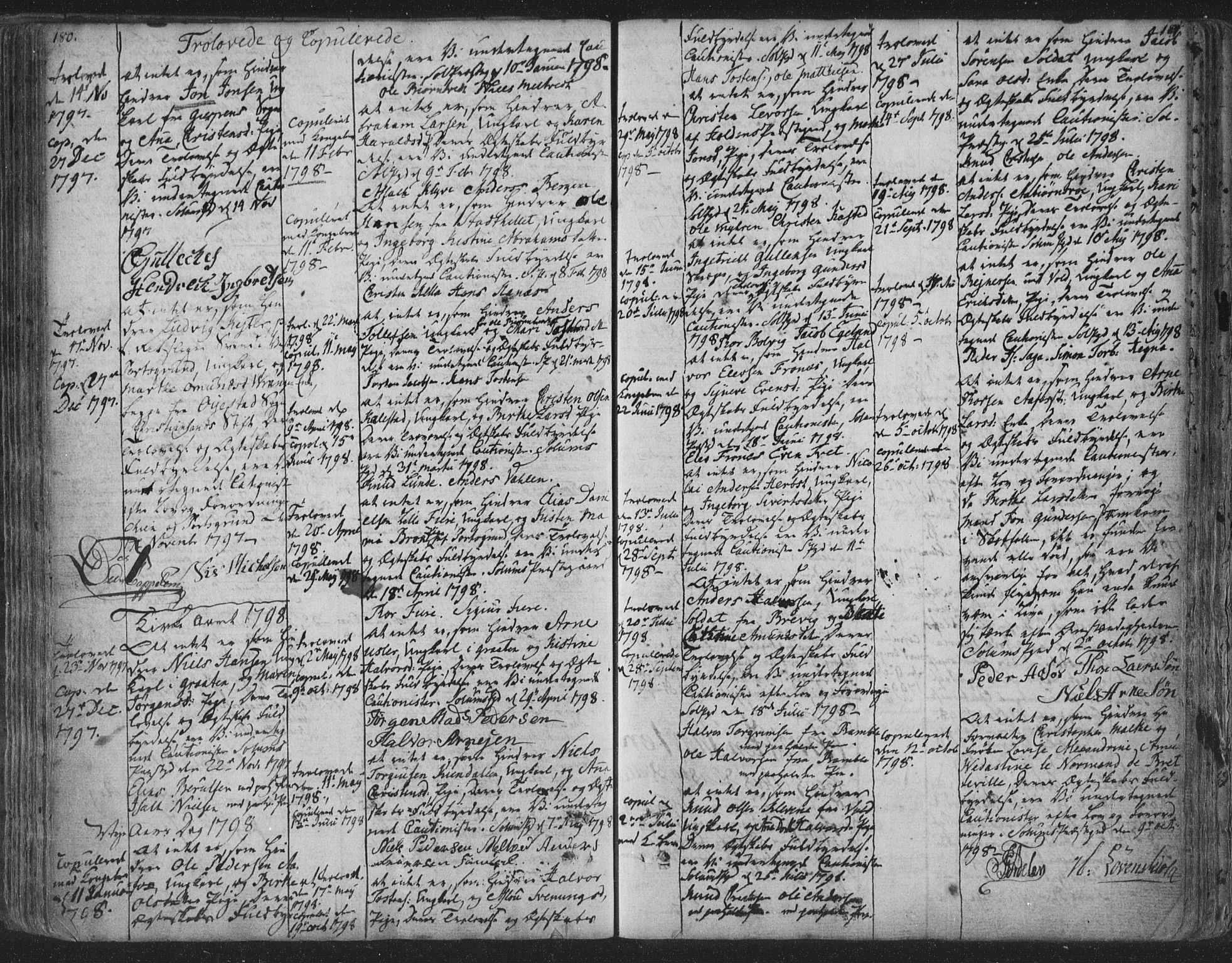SAKO, Solum kirkebøker, F/Fa/L0003: Ministerialbok nr. I 3, 1761-1814, s. 180-181