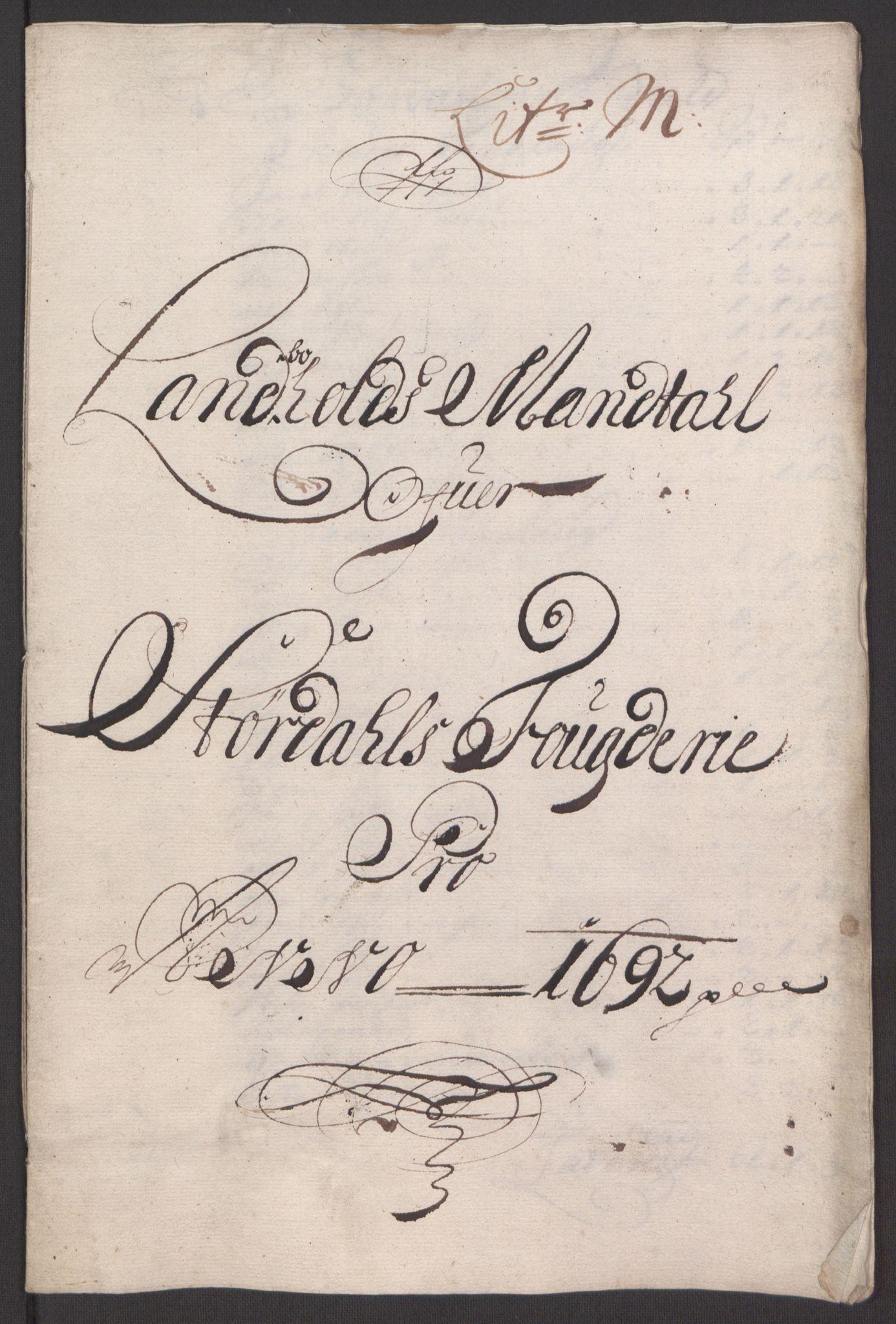 RA, Rentekammeret inntil 1814, Reviderte regnskaper, Fogderegnskap, R62/L4185: Fogderegnskap Stjørdal og Verdal, 1692, s. 202