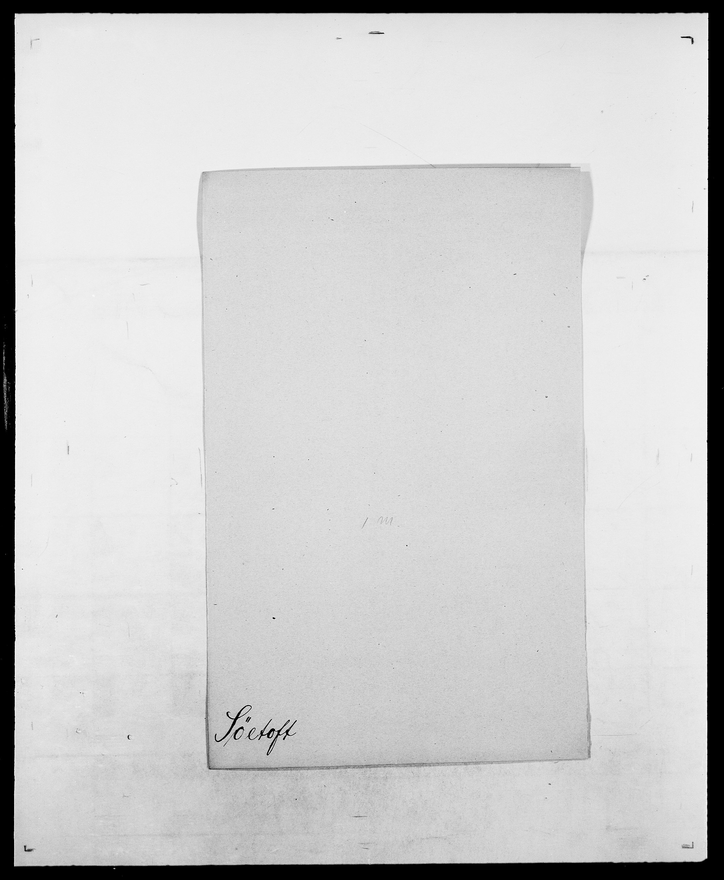 SAO, Delgobe, Charles Antoine - samling, D/Da/L0038: Svanenskjold - Thornsohn, s. 172