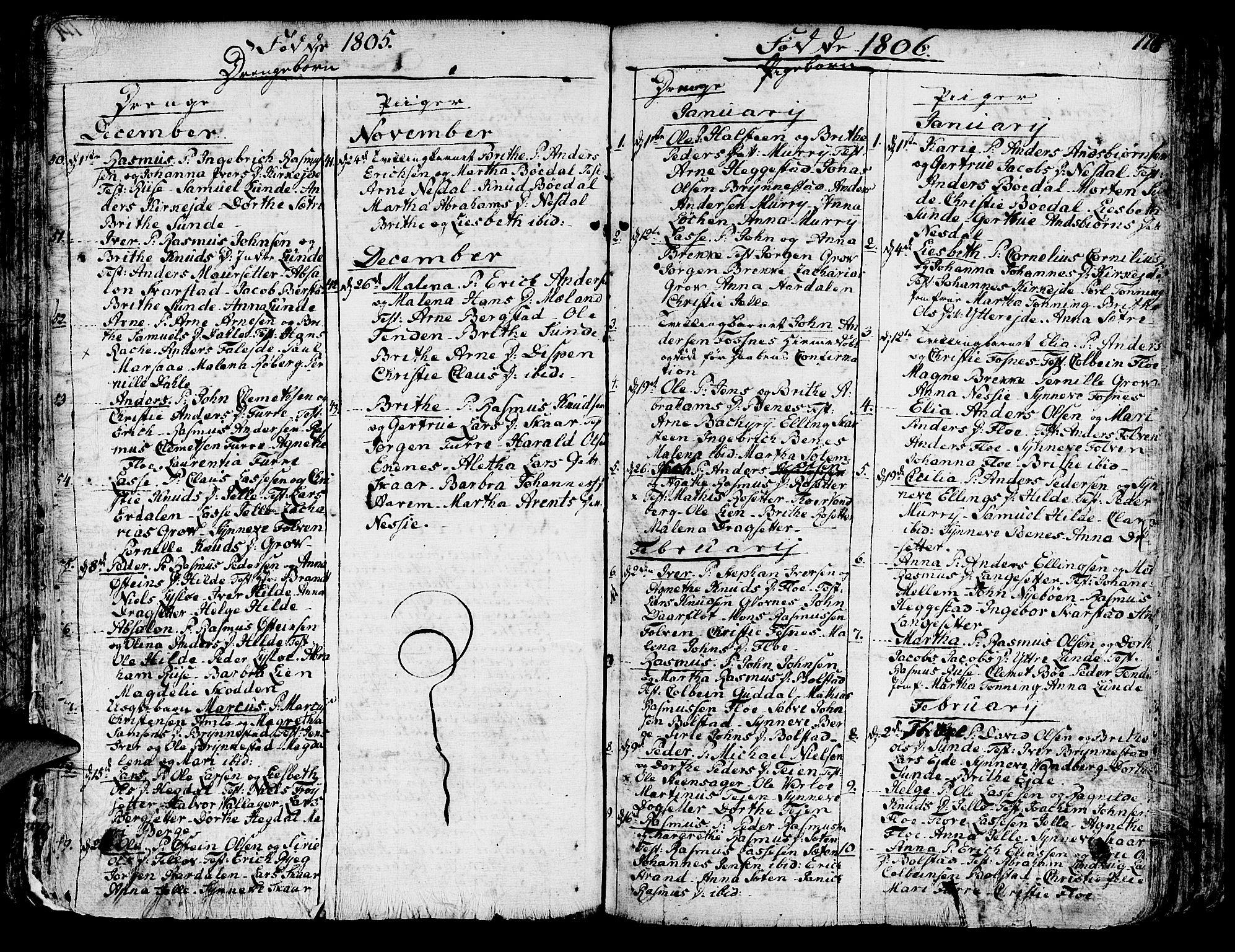 SAB, Innvik sokneprestembete, Ministerialbok nr. A 1, 1750-1816, s. 175