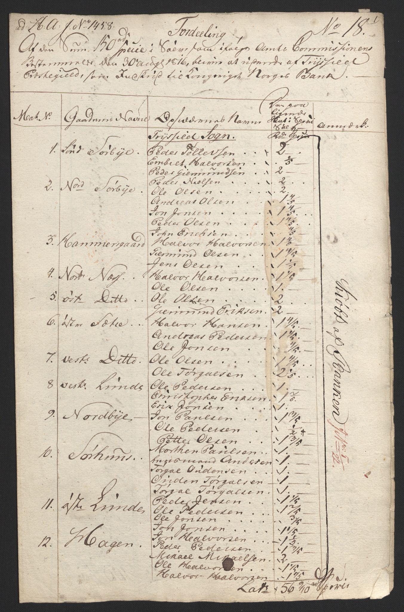 NOBA, Norges Bank/Sølvskatten 1816*, 1816, s. 44