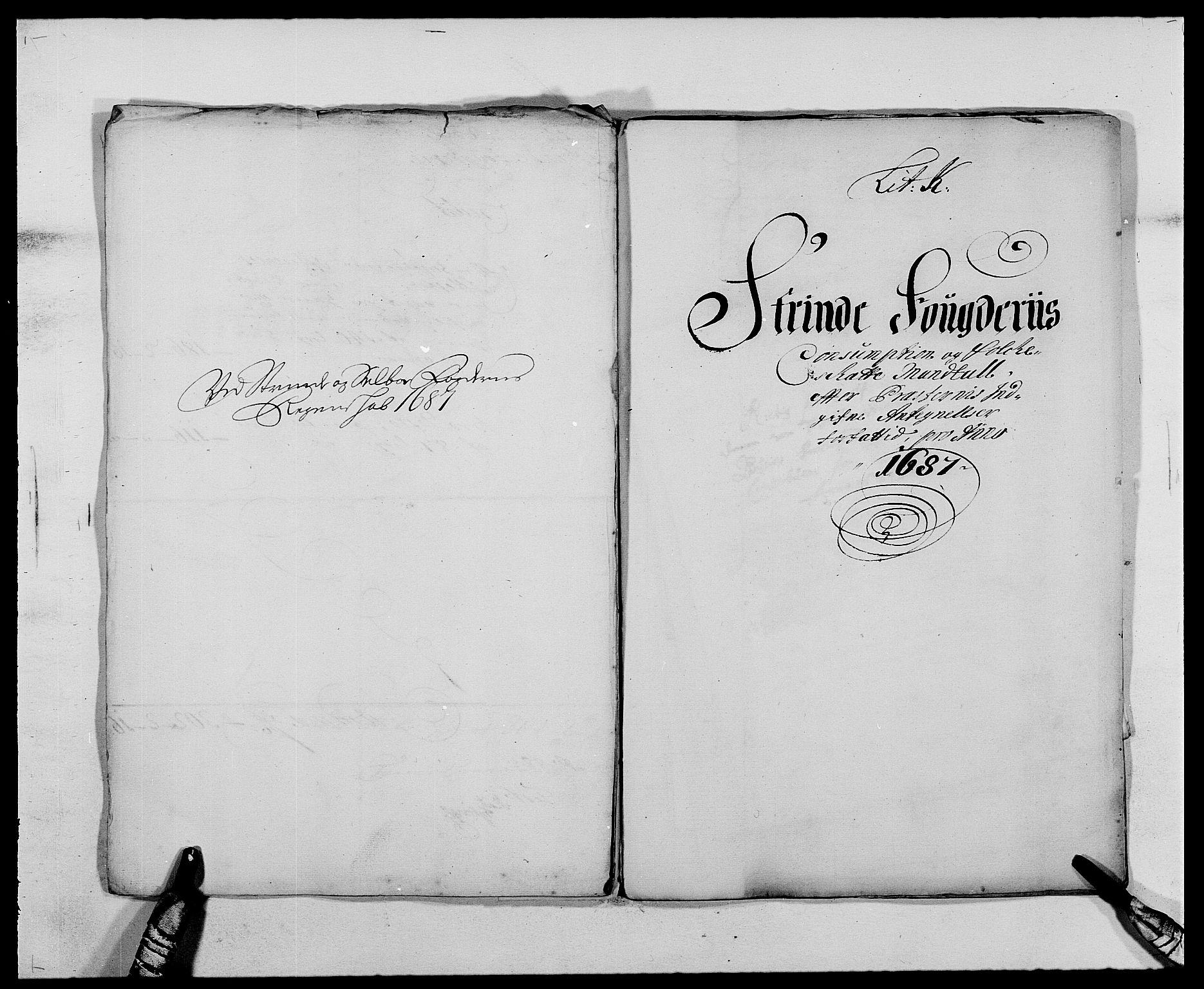RA, Rentekammeret inntil 1814, Reviderte regnskaper, Fogderegnskap, R61/L4101: Fogderegnskap Strinda og Selbu, 1687-1688, s. 85