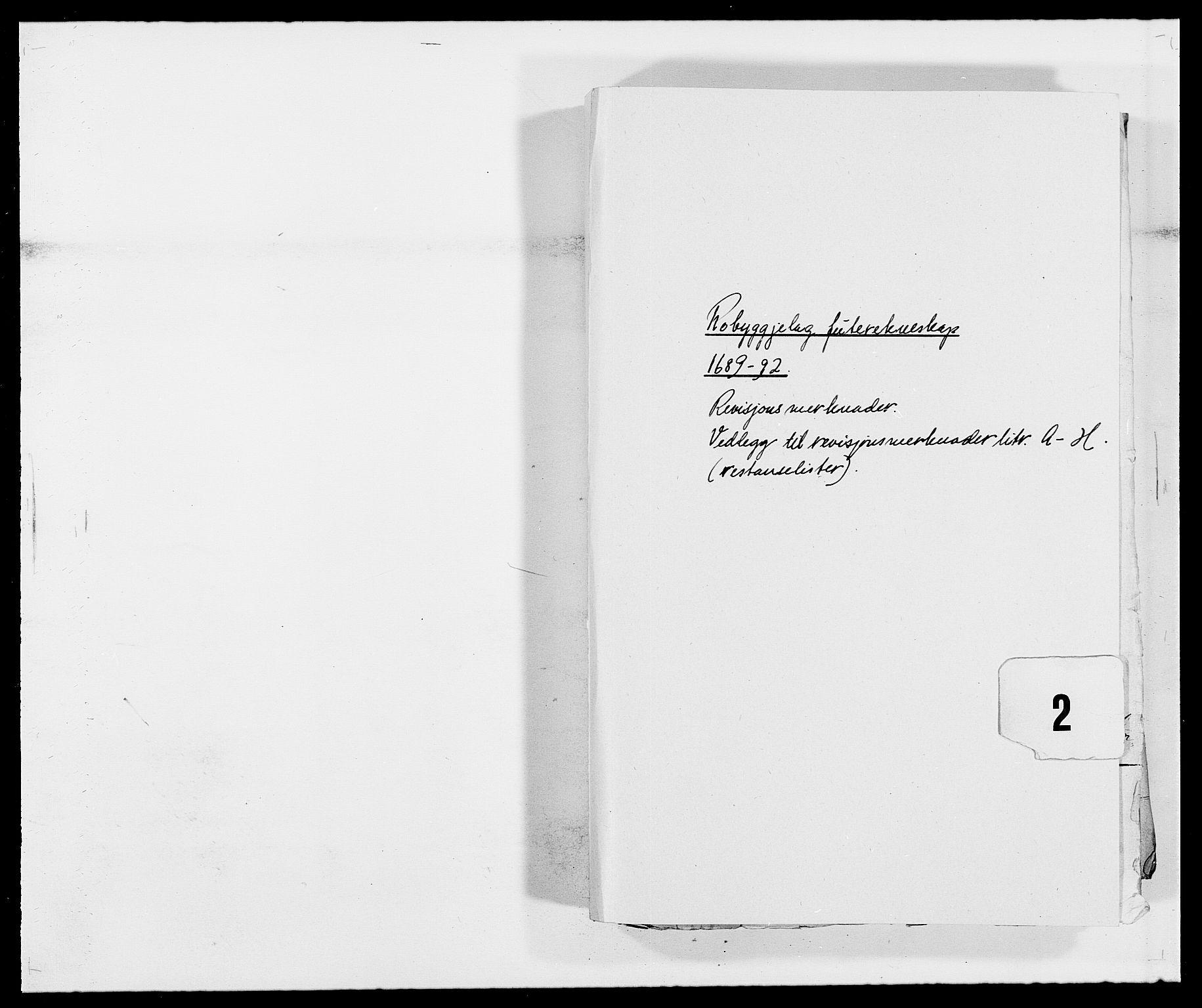 RA, Rentekammeret inntil 1814, Reviderte regnskaper, Fogderegnskap, R40/L2443: Fogderegnskap Råbyggelag, 1691-1692, s. 197