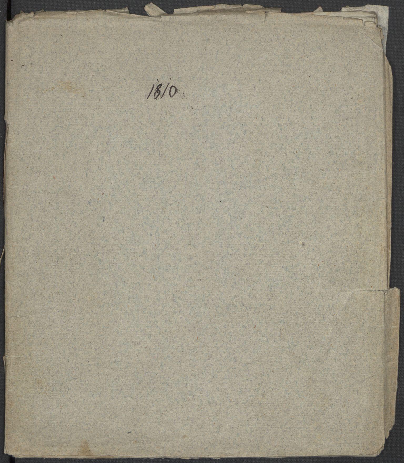 RA, Holck, Meidell, Hartvig, F/L0001: (Kassett) Dagbøker ført av Ole Elias v.Holck, 1798-1842, s. 234