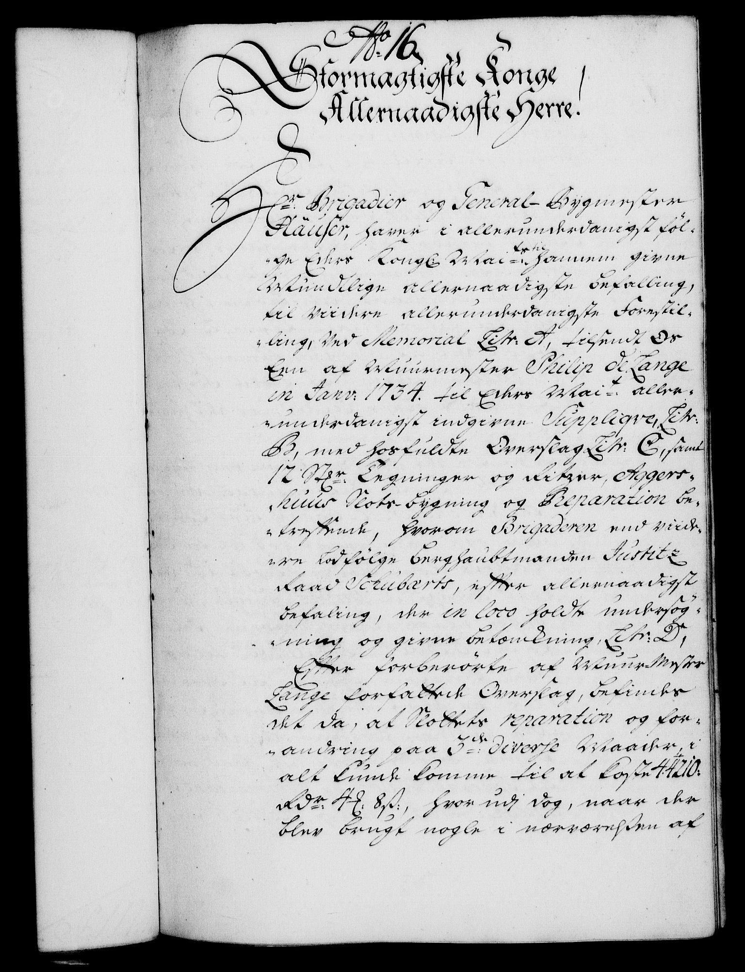 RA, Rentekammeret, Kammerkanselliet, G/Gf/Gfa/L0020: Norsk relasjons- og resolusjonsprotokoll (merket RK 52.20), 1737, s. 150
