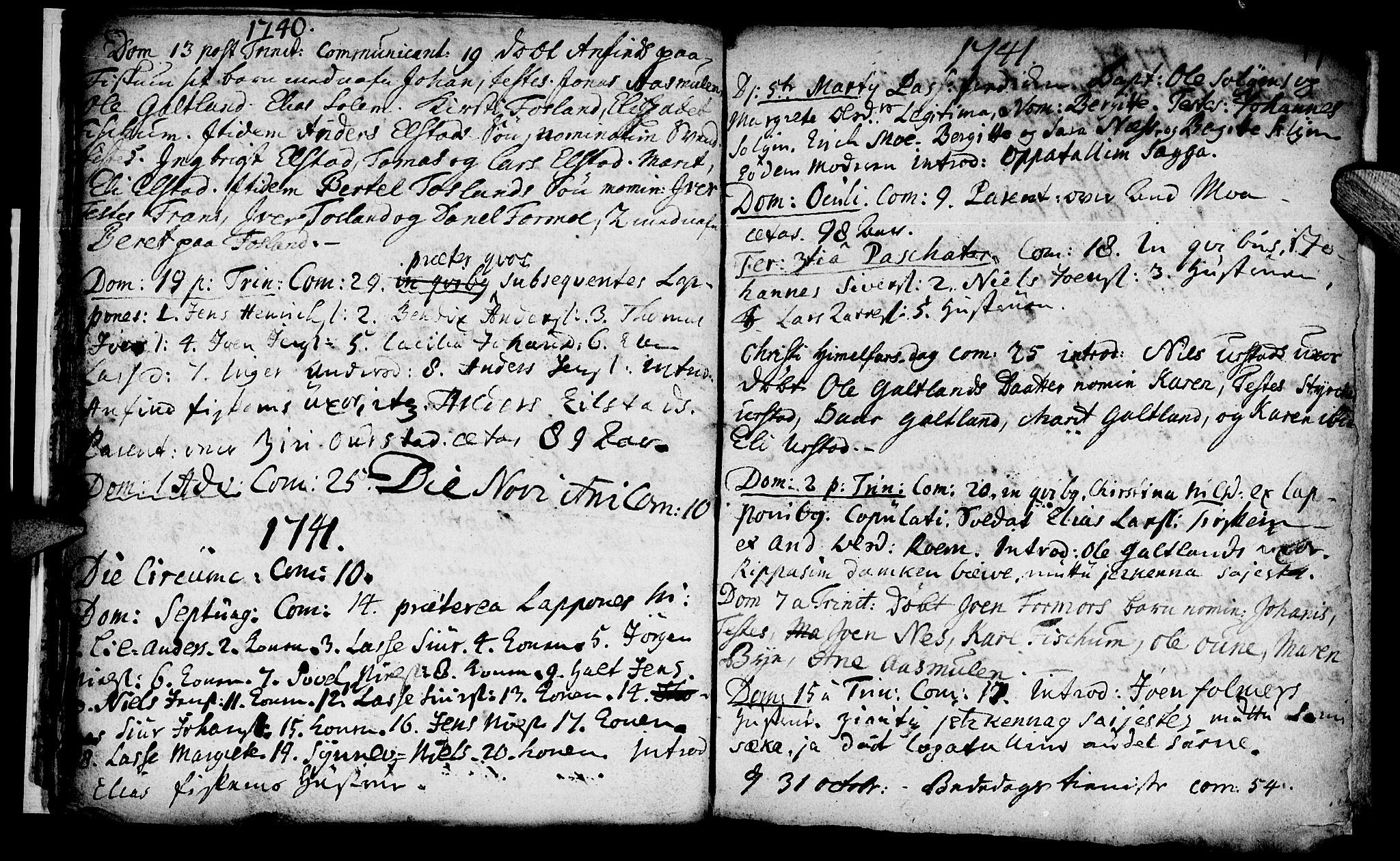 SAT, Ministerialprotokoller, klokkerbøker og fødselsregistre - Nord-Trøndelag, 759/L0525: Ministerialbok nr. 759A01, 1706-1748, s. 17