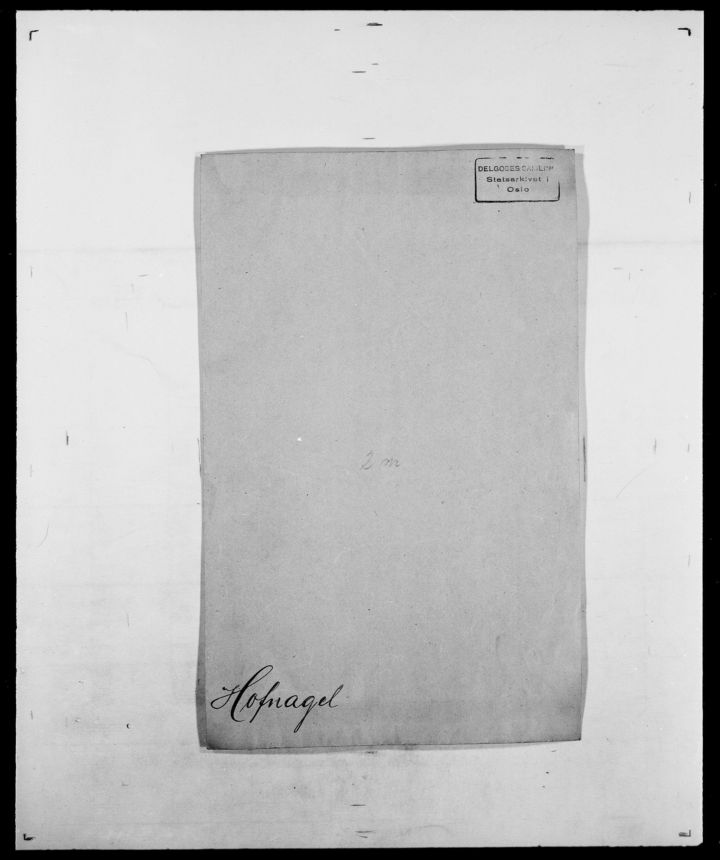 SAO, Delgobe, Charles Antoine - samling, D/Da/L0018: Hoch - Howert, s. 132