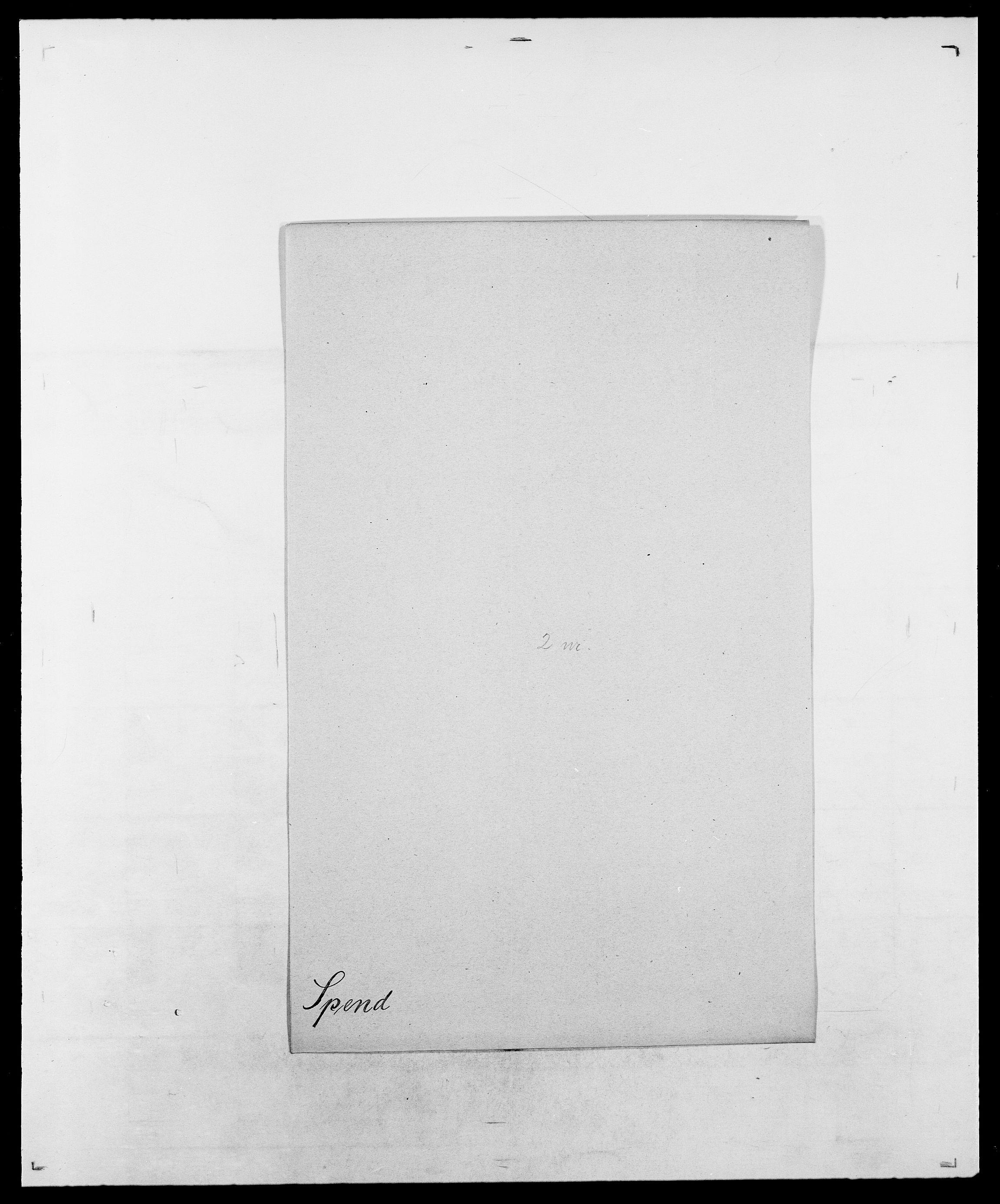SAO, Delgobe, Charles Antoine - samling, D/Da/L0036: Skaanør - Staverskov, s. 531