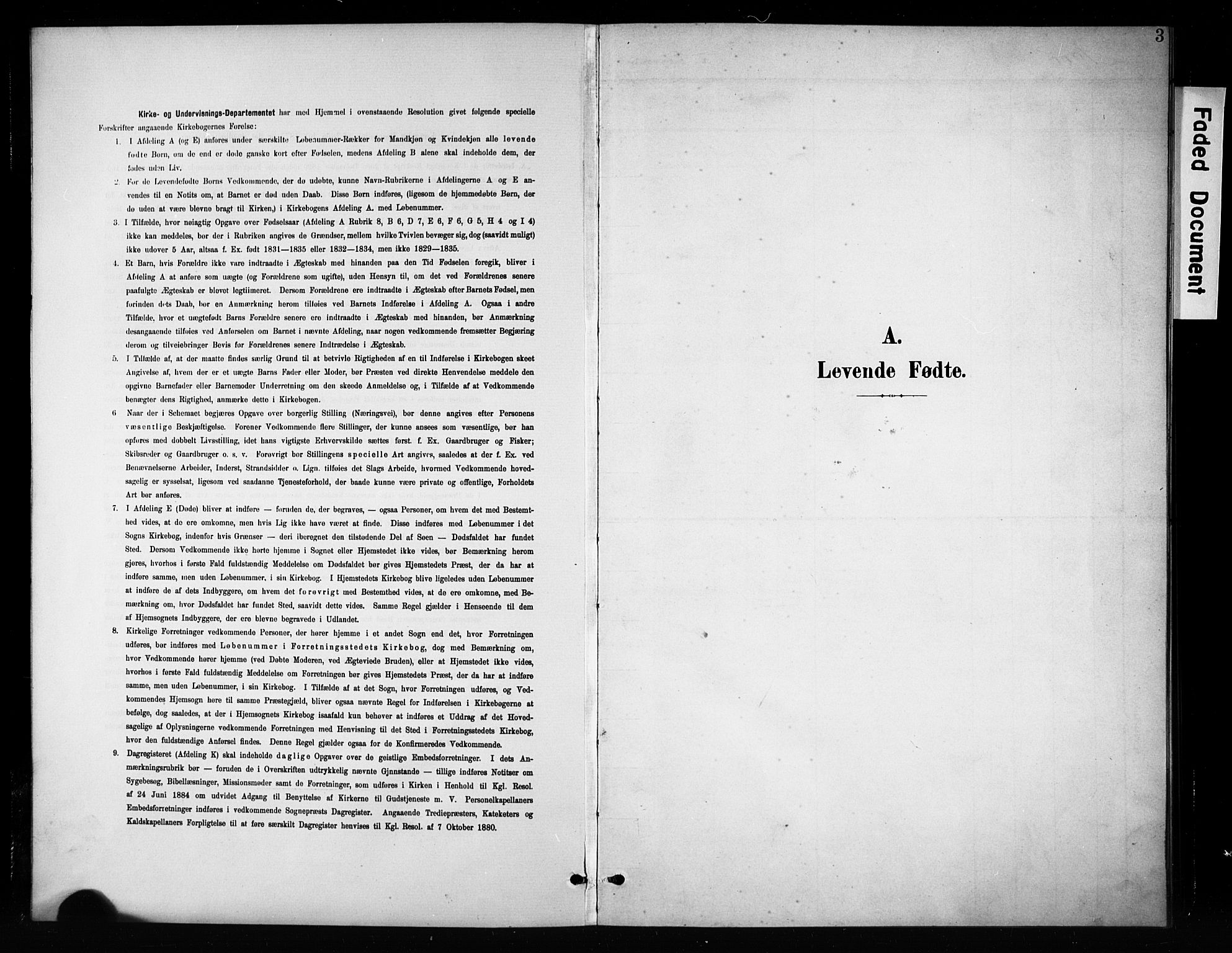 SAH, Brandbu prestekontor, Klokkerbok nr. 5, 1900-1913, s. 3
