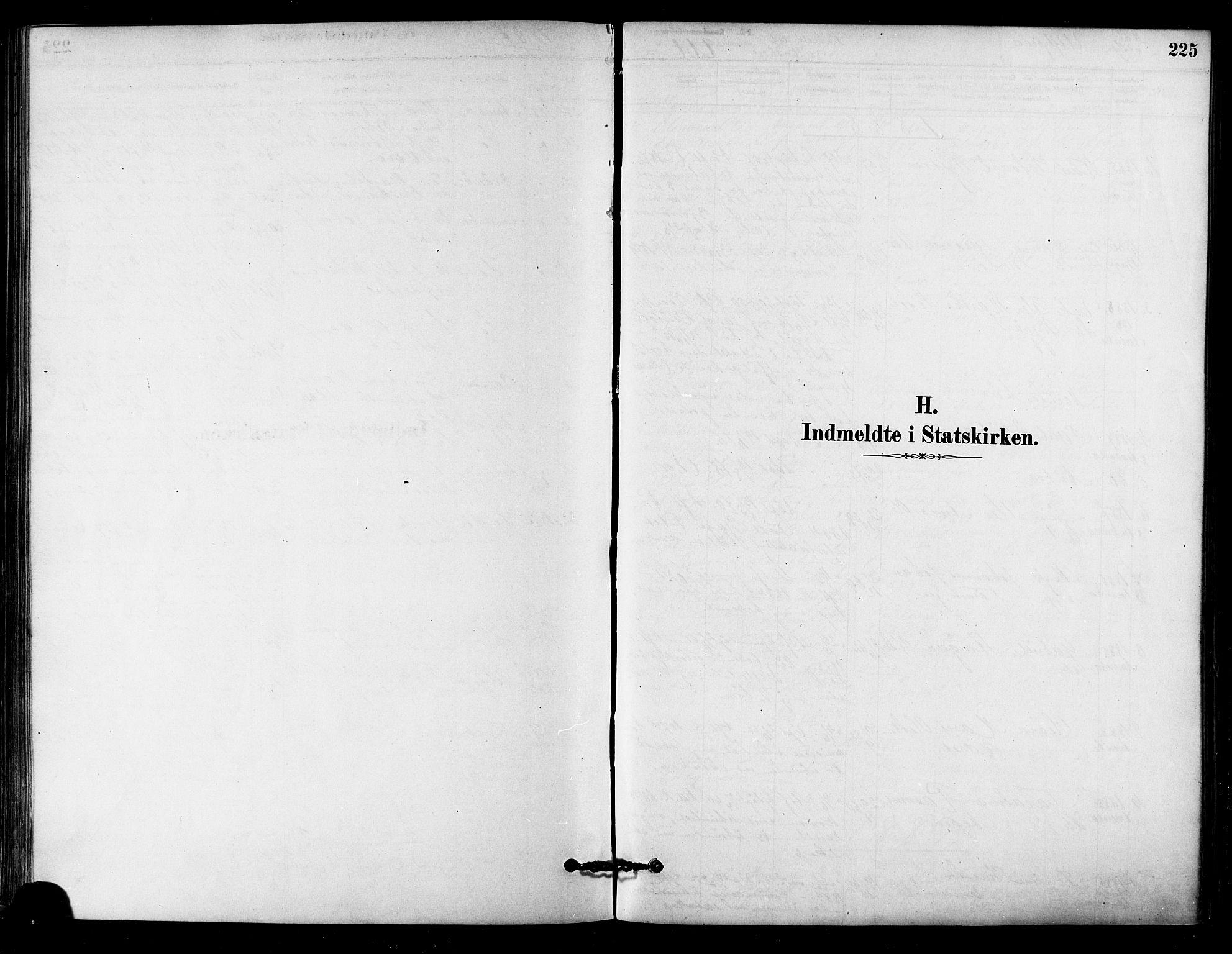 SAT, Ministerialprotokoller, klokkerbøker og fødselsregistre - Sør-Trøndelag, 657/L0707: Ministerialbok nr. 657A08, 1879-1893, s. 225