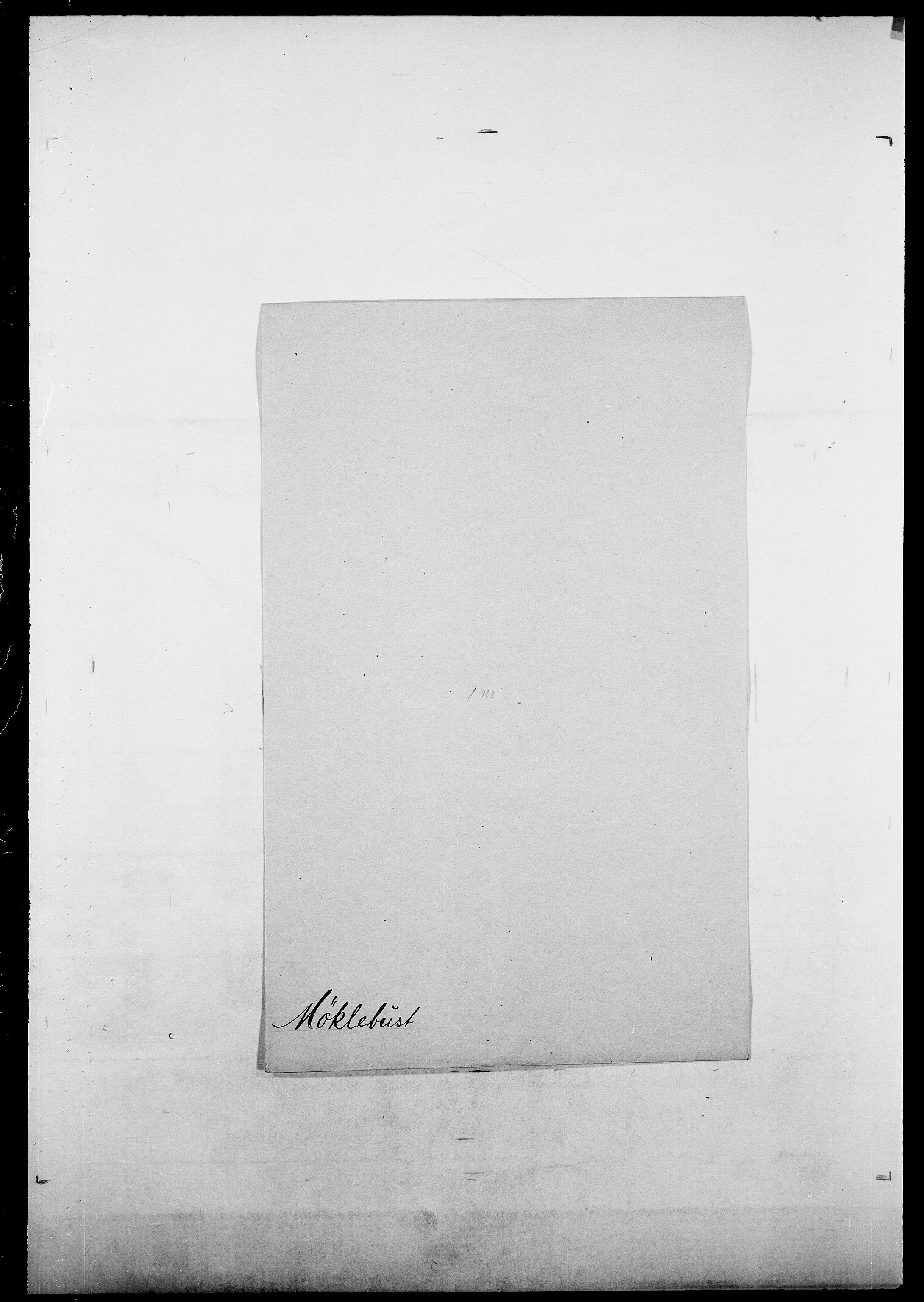 SAO, Delgobe, Charles Antoine - samling, D/Da/L0027: Morath - v. Møsting, s. 536