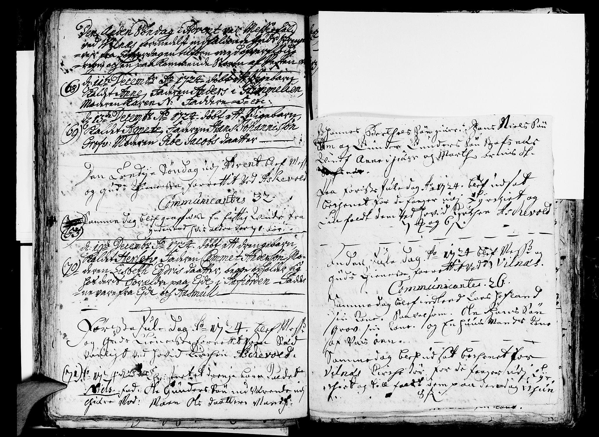 SAB, Askvoll Sokneprestembete, Ministerialbok nr. A 5, 1722-1733, s. 86