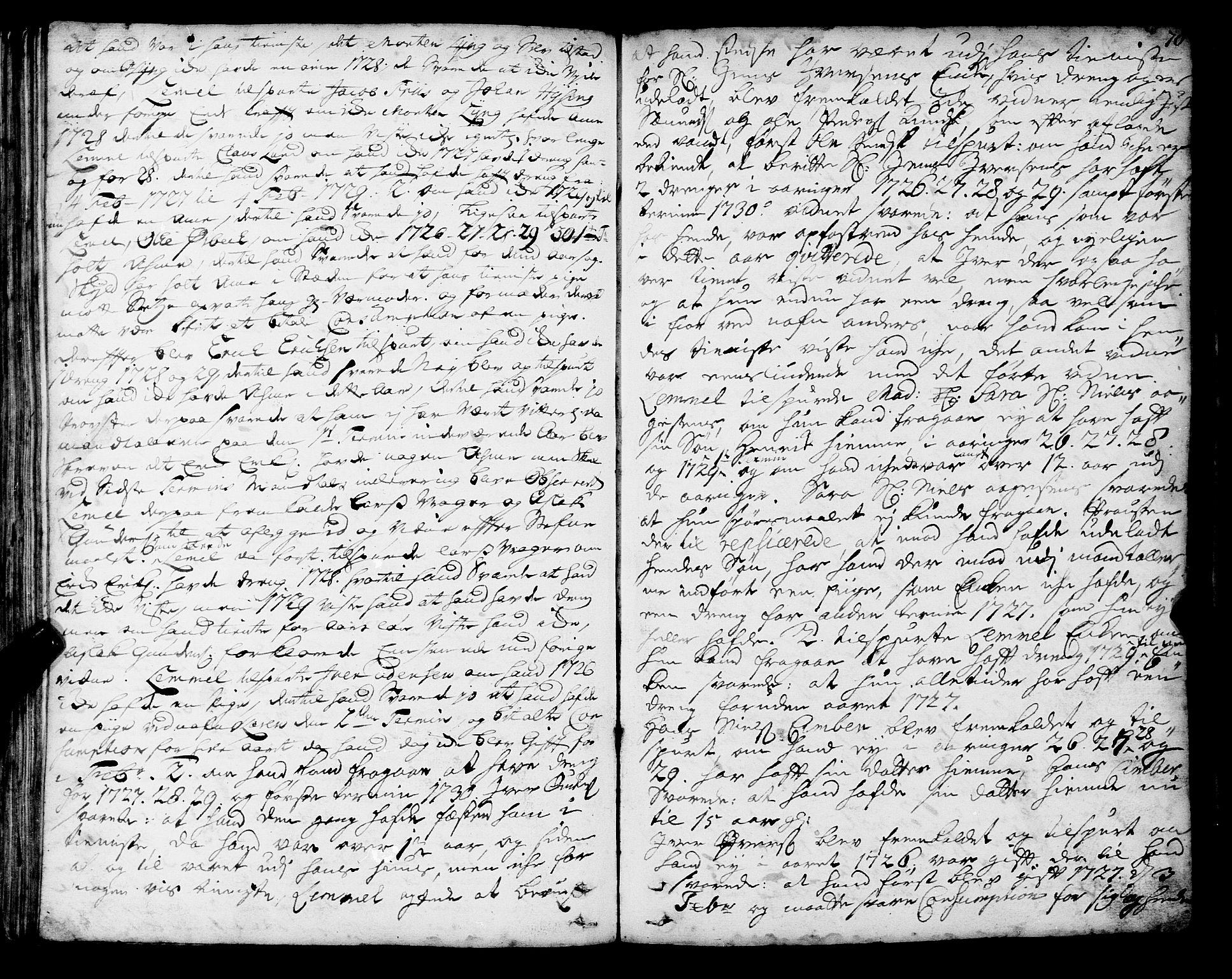 SAT, Romsdal sorenskriveri, 1/1A/L0010: Tingbok, 1728-1732, s. 78