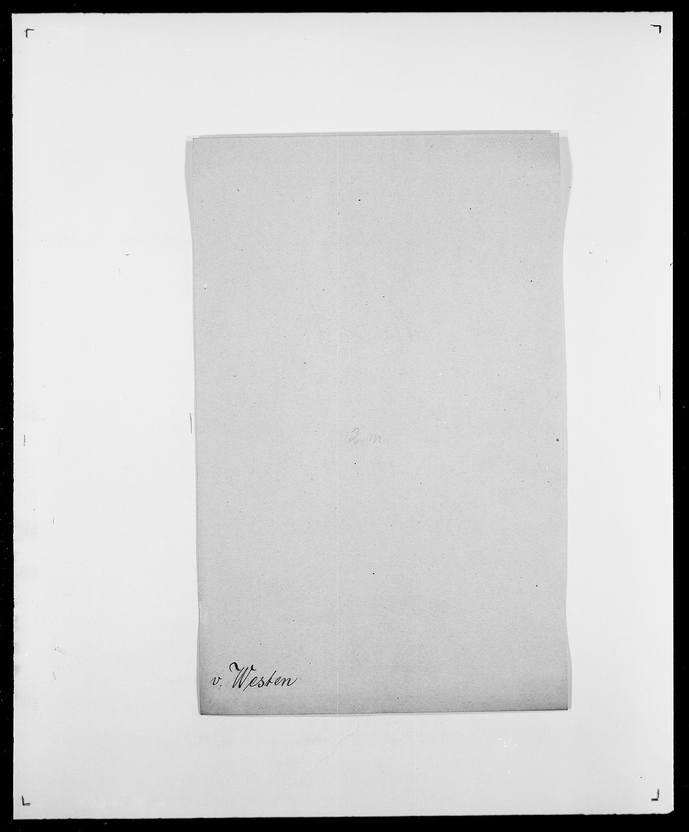 SAO, Delgobe, Charles Antoine - samling, D/Da/L0041: Vemmestad - Viker, s. 256