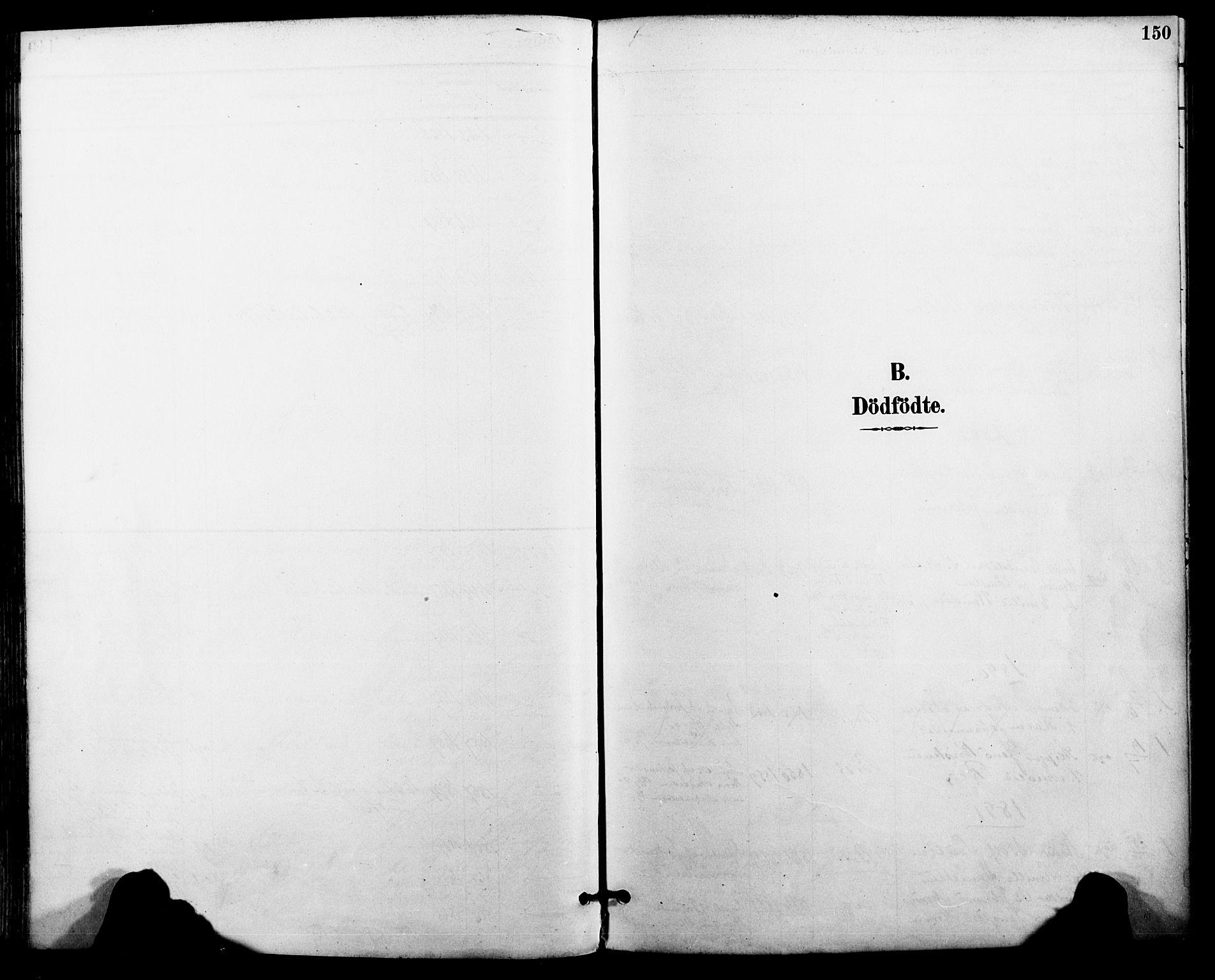 SAT, Ministerialprotokoller, klokkerbøker og fødselsregistre - Nordland, 801/L0010: Ministerialbok nr. 801A10, 1888-1899, s. 150
