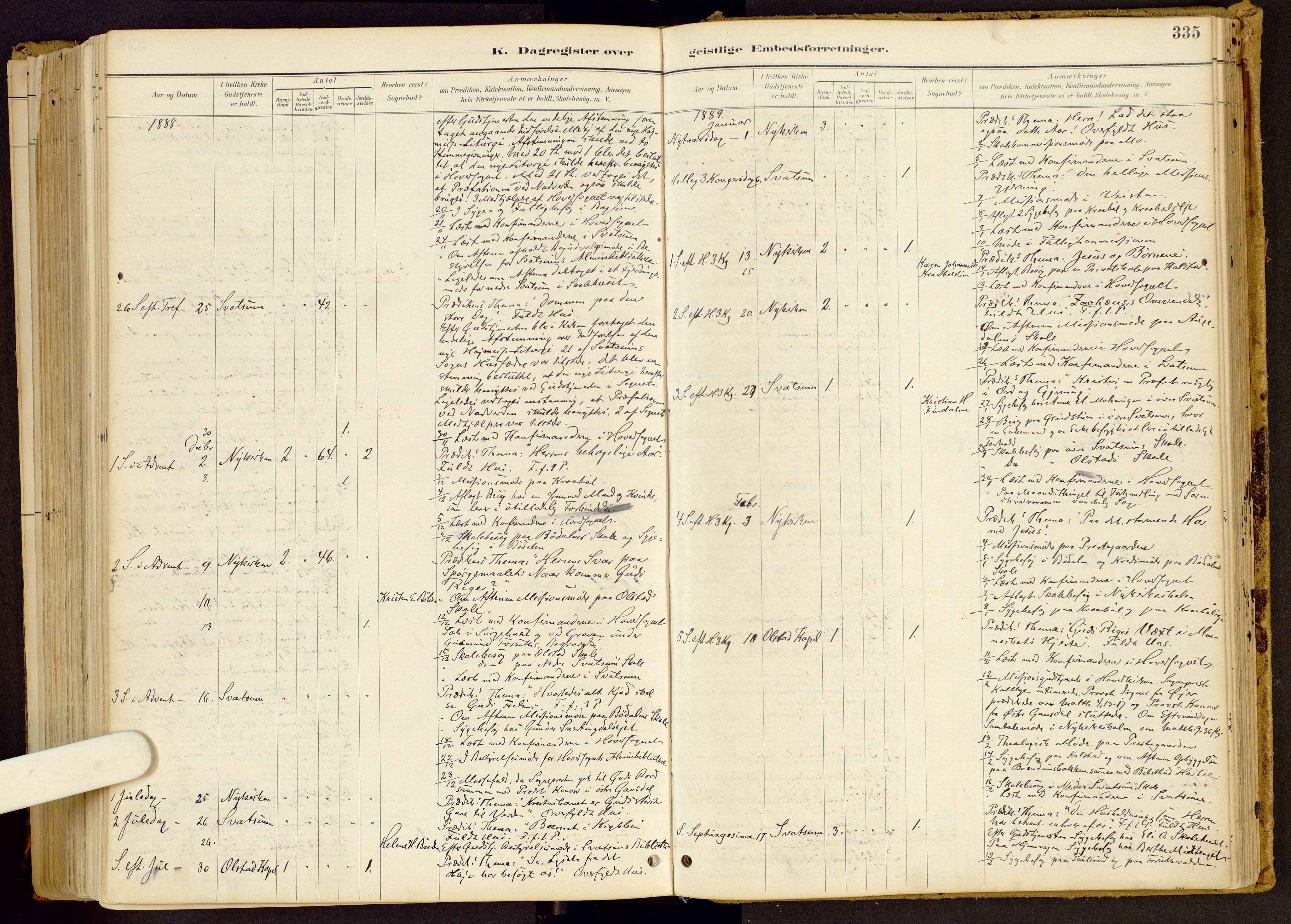 SAH, Vestre Gausdal prestekontor, Ministerialbok nr. 1, 1887-1914, s. 335