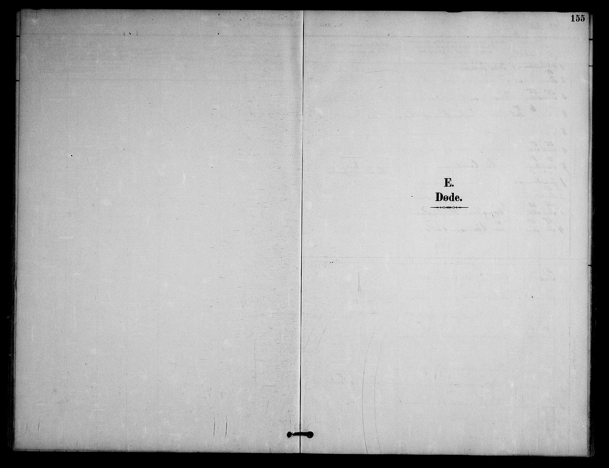 SAKO, Nissedal kirkebøker, G/Ga/L0003: Klokkerbok nr. I 3, 1887-1911, s. 155