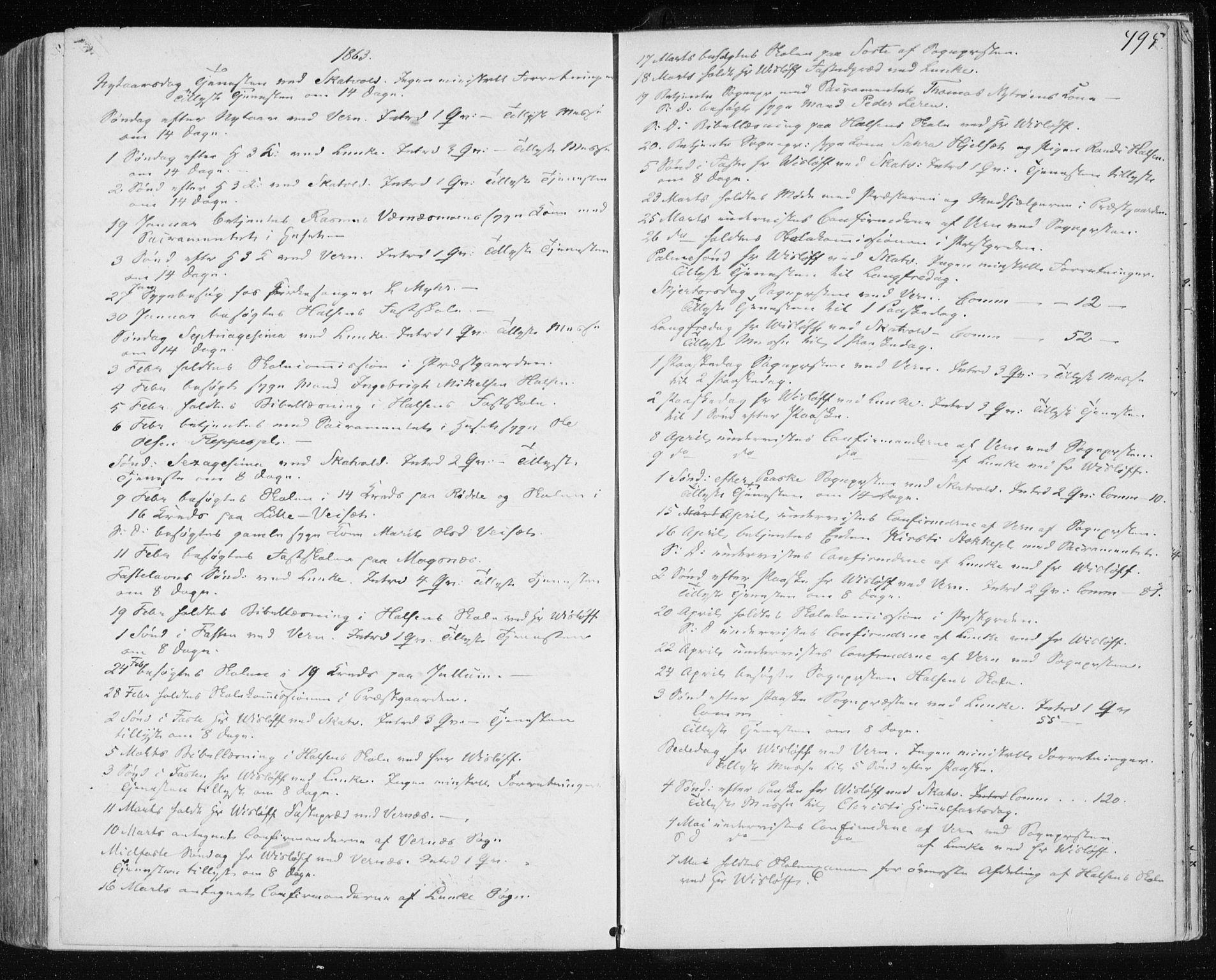 SAT, Ministerialprotokoller, klokkerbøker og fødselsregistre - Nord-Trøndelag, 709/L0075: Ministerialbok nr. 709A15, 1859-1870, s. 495