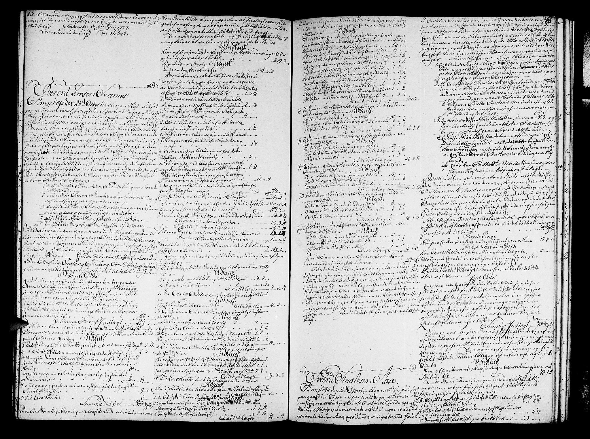 SAST, Jæren og Dalane sorenskriveri, 5/50BA/L0017B: SKIFTEPROTOKOLL <219-408>, 1789-1792, s. 367b-368a