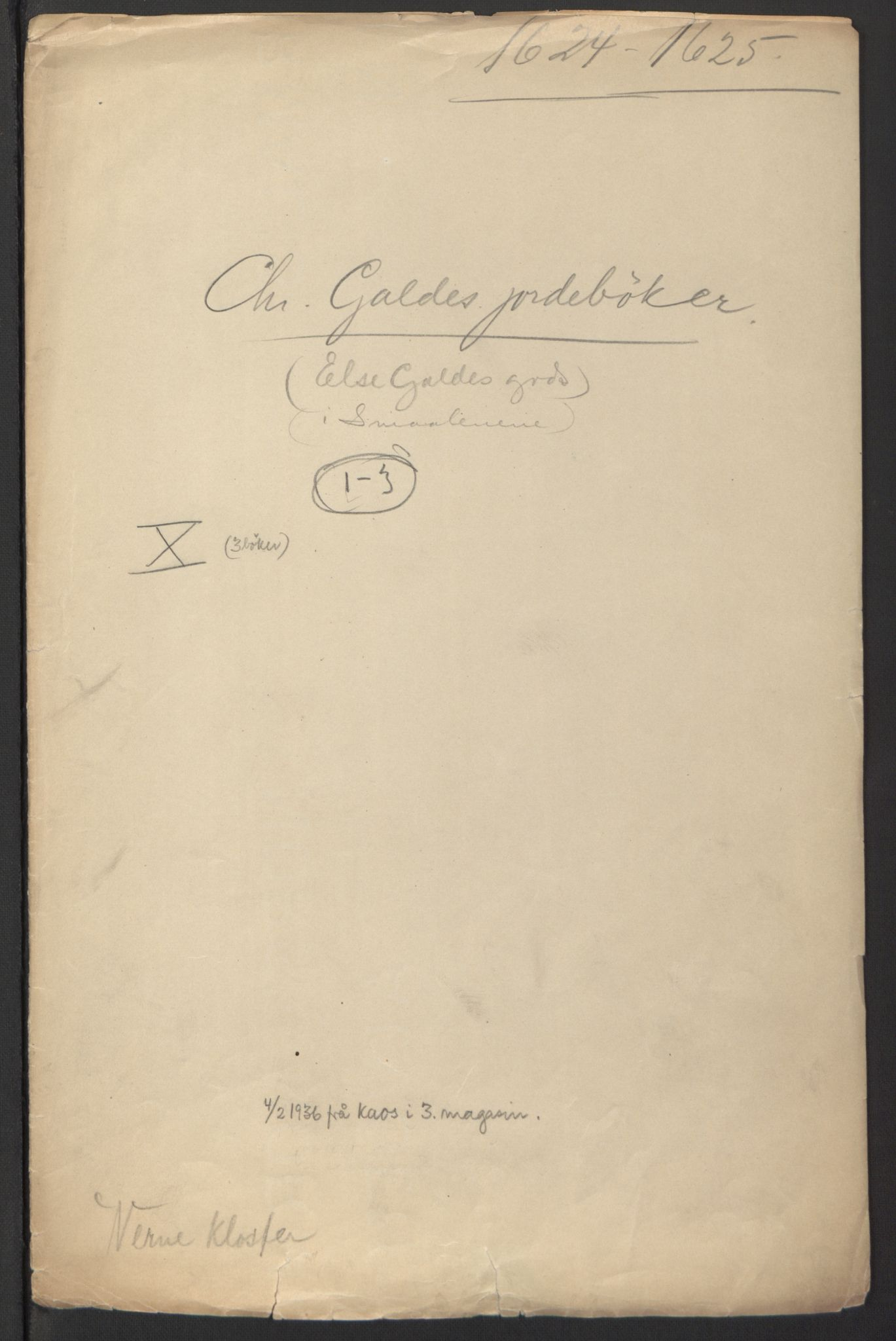 RA, Stattholderembetet 1572-1771, Ek/L0007: Jordebøker til utlikning av rosstjeneste 1624-1626:, 1624-1625, s. 247