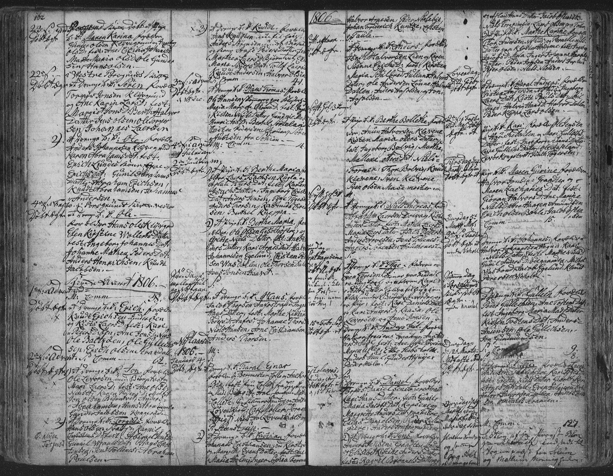 SAKO, Solum kirkebøker, F/Fa/L0003: Ministerialbok nr. I 3, 1761-1814, s. 162-163