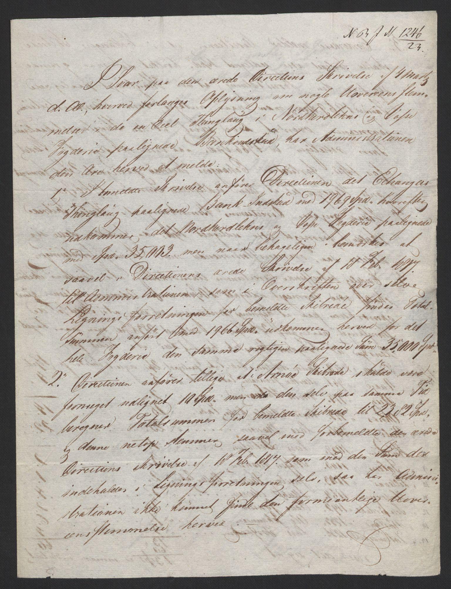 NOBA, Norges Bank/Sølvskatten 1816*, 1816-1824, s. 142