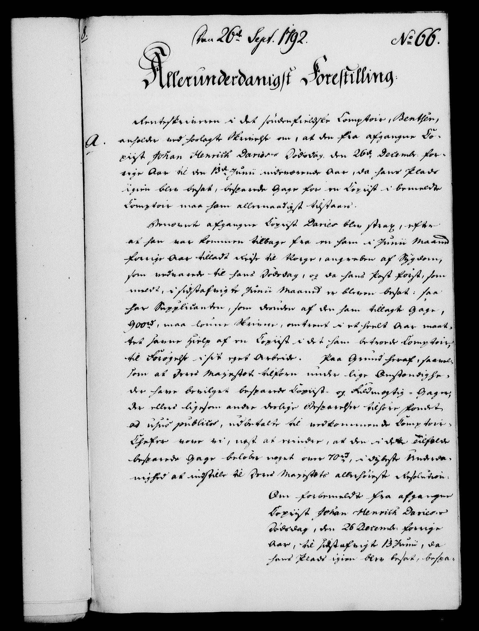 RA, Rentekammeret, Kammerkanselliet, G/Gf/Gfa/L0074: Norsk relasjons- og resolusjonsprotokoll (merket RK 52.74), 1792, s. 381